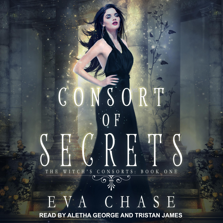 Printable Consort of Secrets: A Paranormal Reverse Harem Novel Audiobook Cover Art