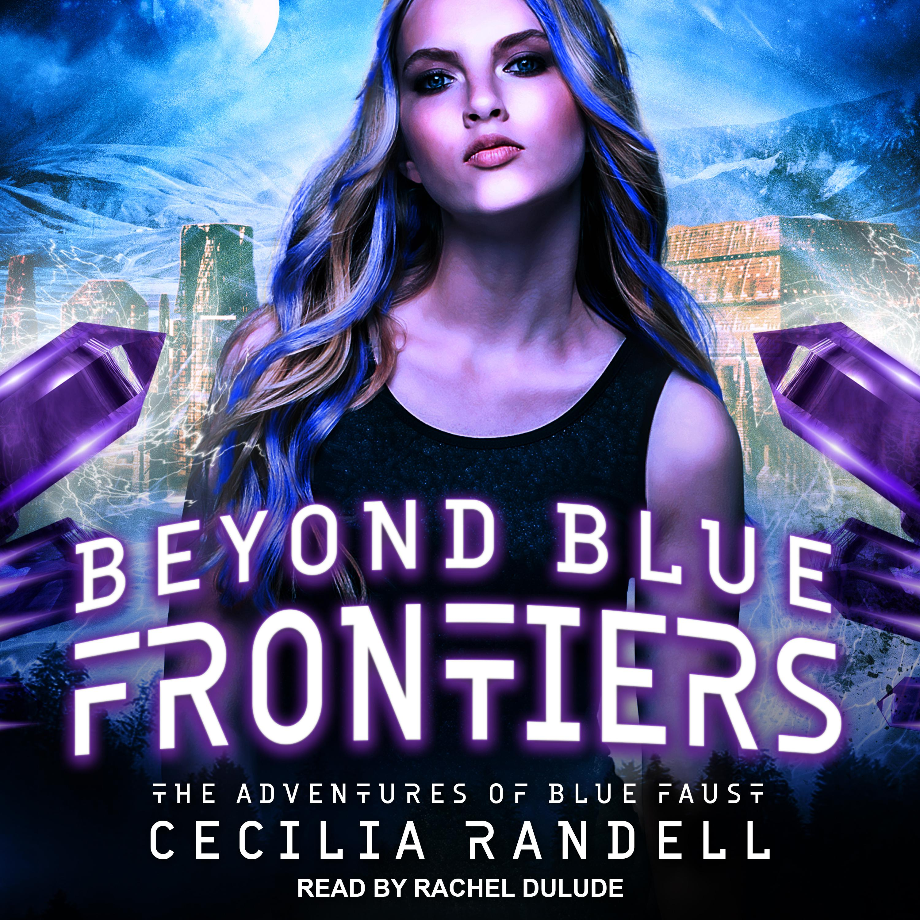 Printable Beyond Blue Frontiers Audiobook Cover Art