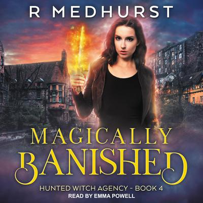 Magically Banished Audiobook, by Rachel Medhurst