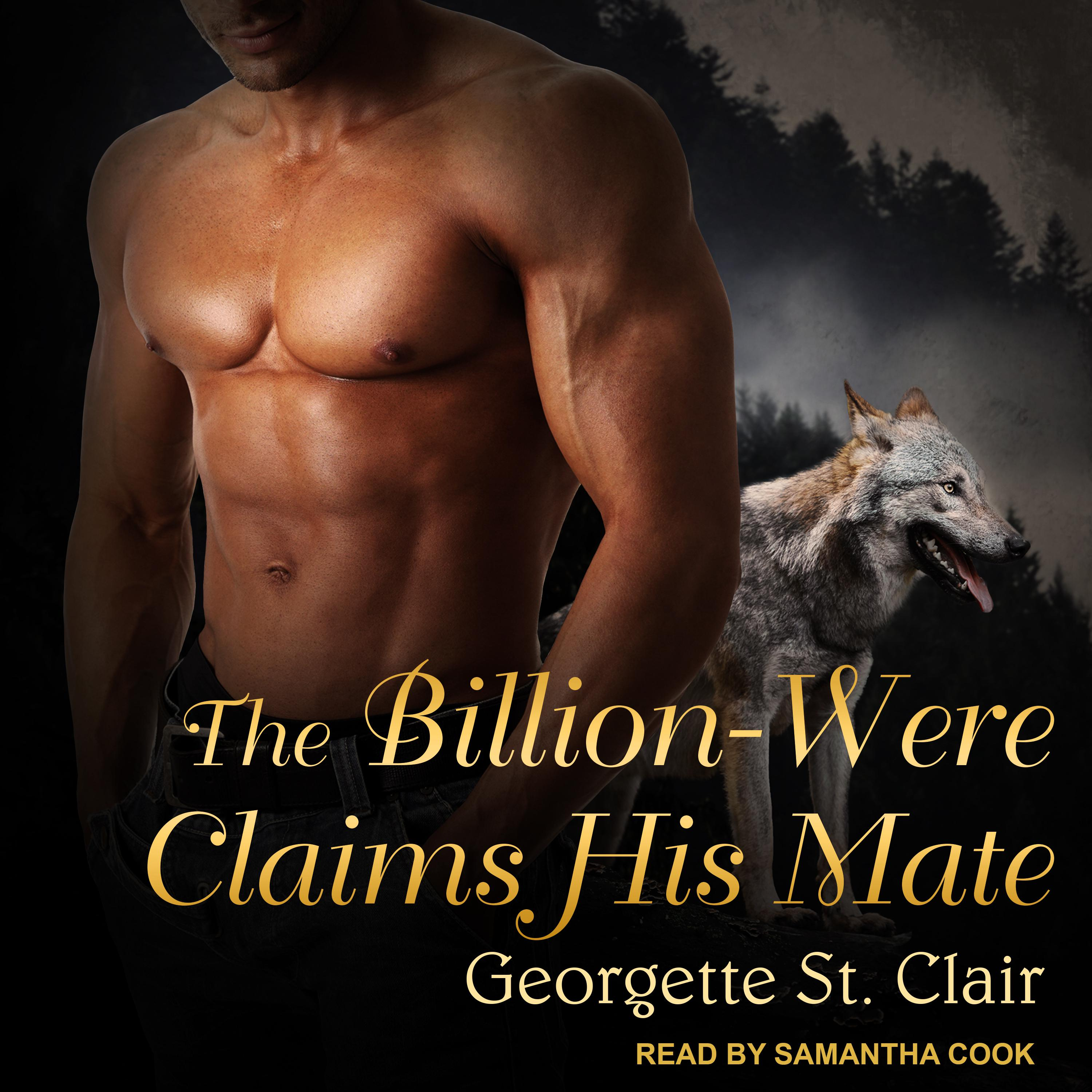 Printable The Billion-Were Claims His Mate Audiobook Cover Art