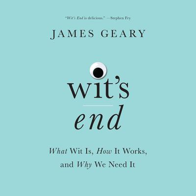 Wit's End: What Wit Is, How It Works, and Why We Need It Audiobook, by James Geary