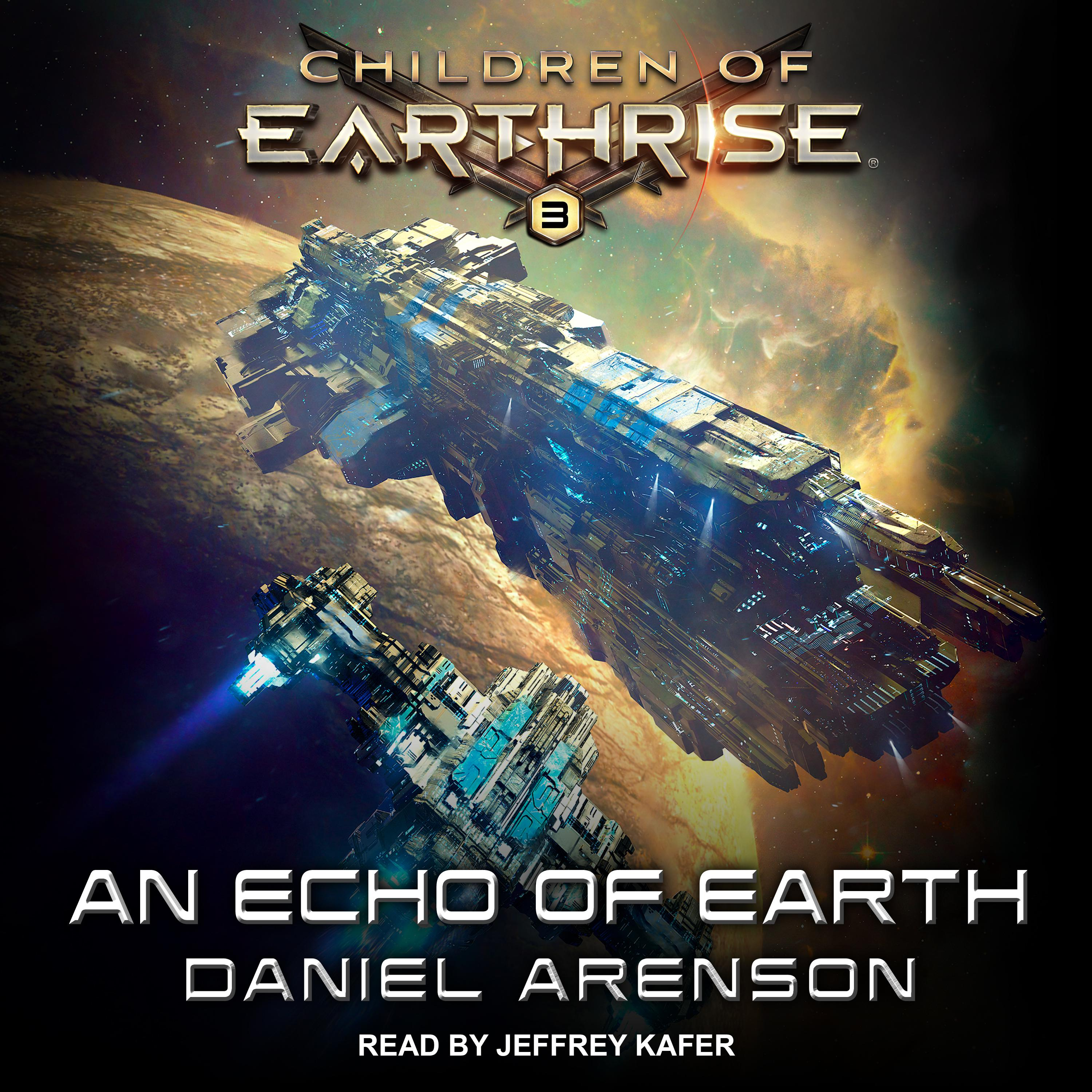 Printable An Echo of Earth Audiobook Cover Art