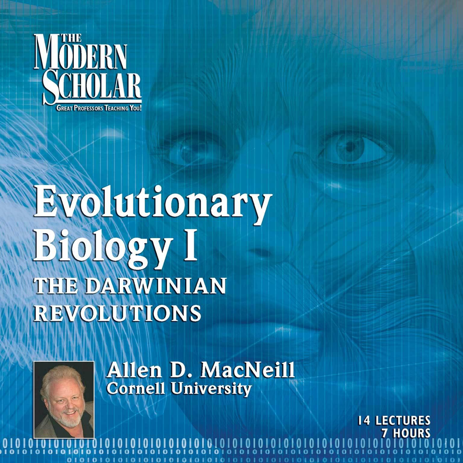 Printable Evolutionary Biology, Part 1: The Darwinian Revolutions: Modern Synthesis Audiobook Cover Art