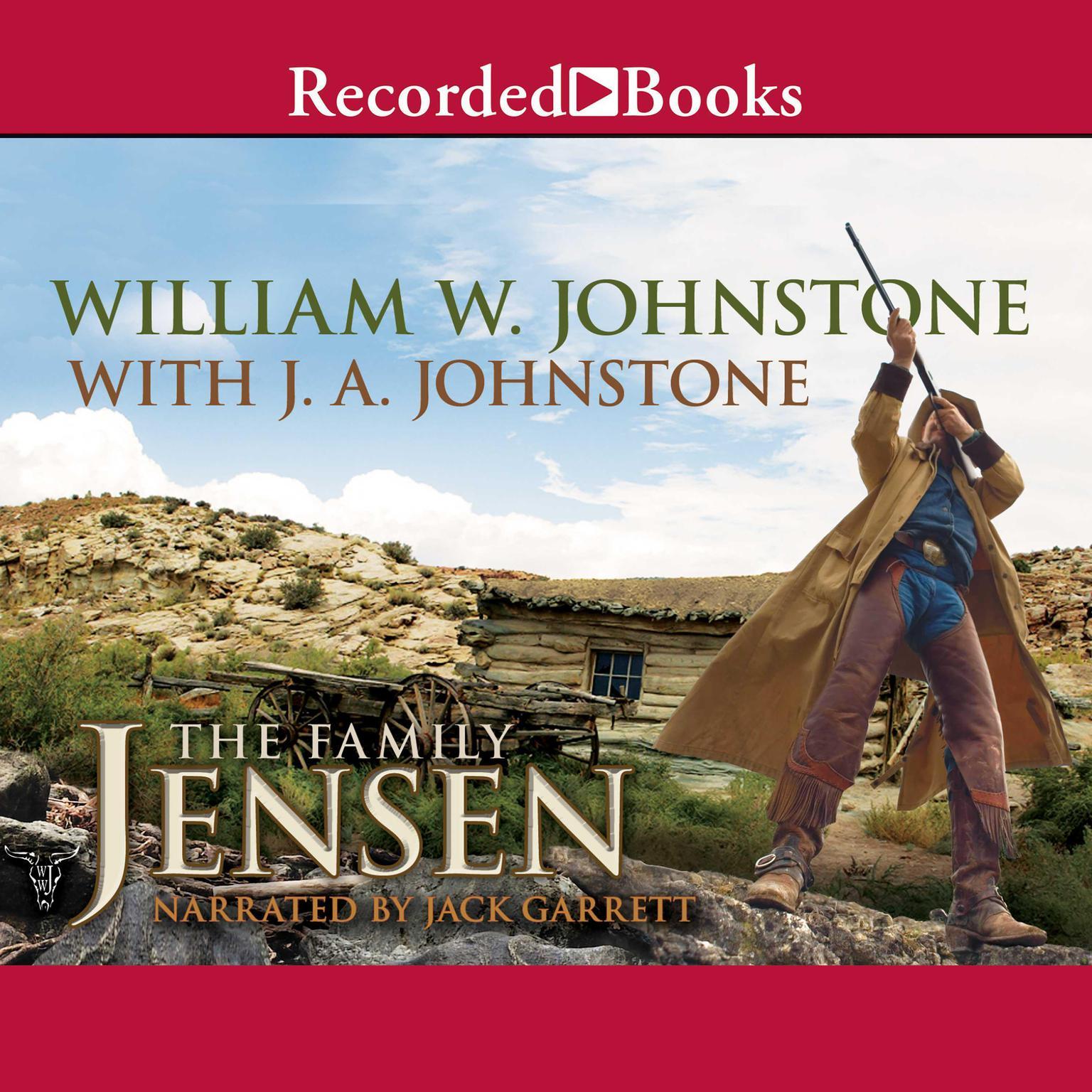 Printable The Family Jensen Audiobook Cover Art