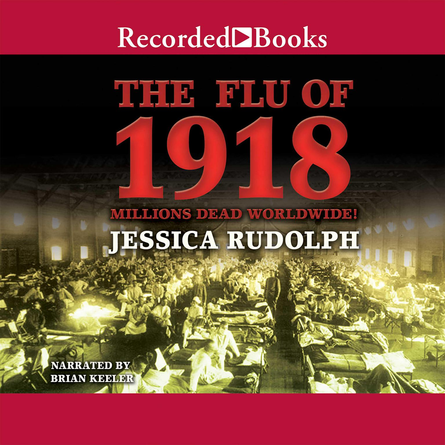 Printable The Flu of 1918: Millions Dead Worldwide Audiobook Cover Art