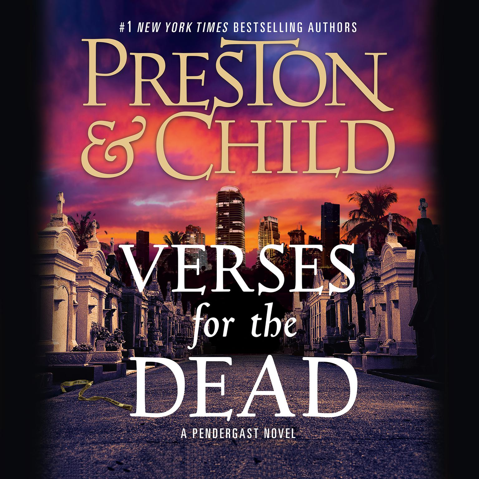 Printable Verses for the Dead Audiobook Cover Art