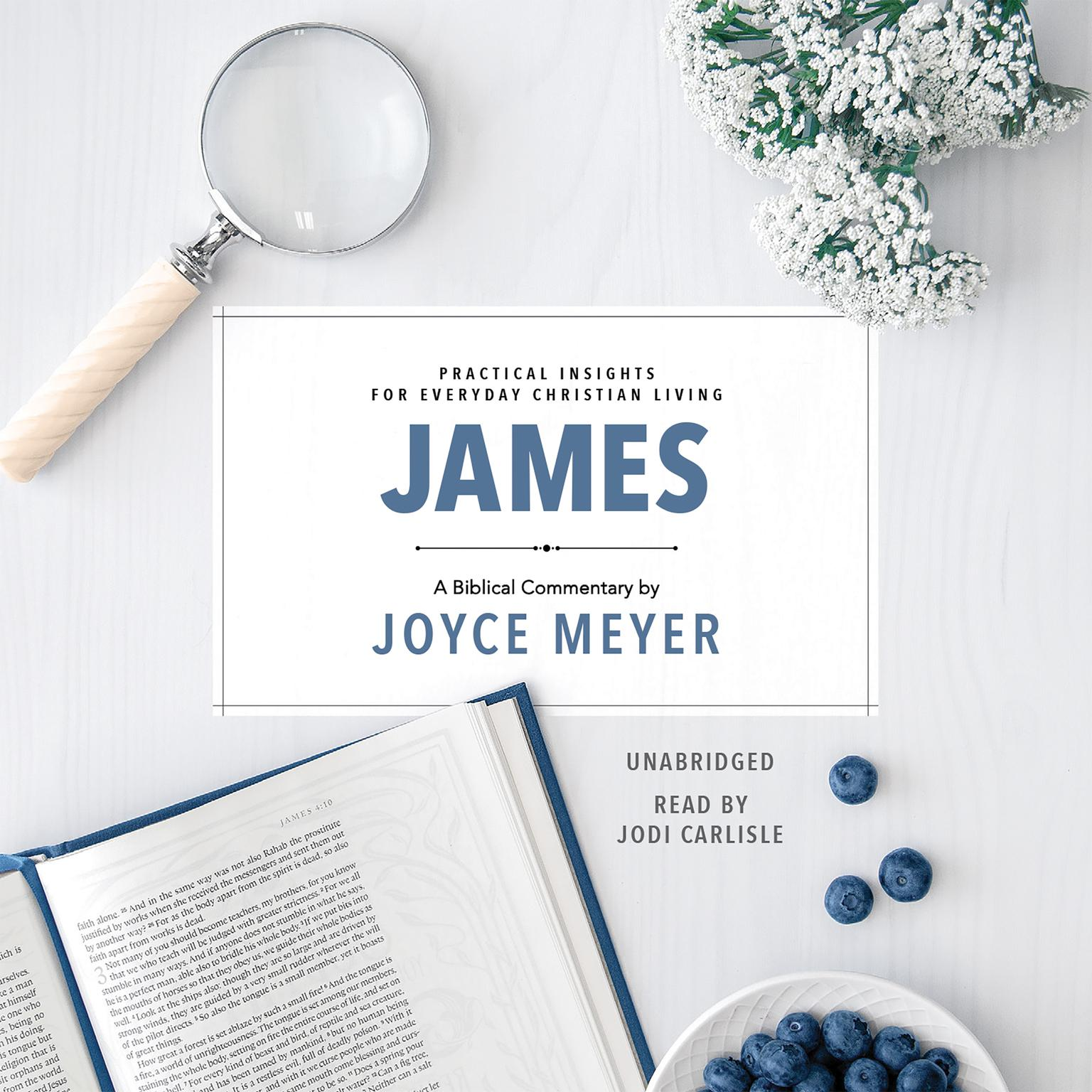 Printable James: Biblical Commentary Audiobook Cover Art