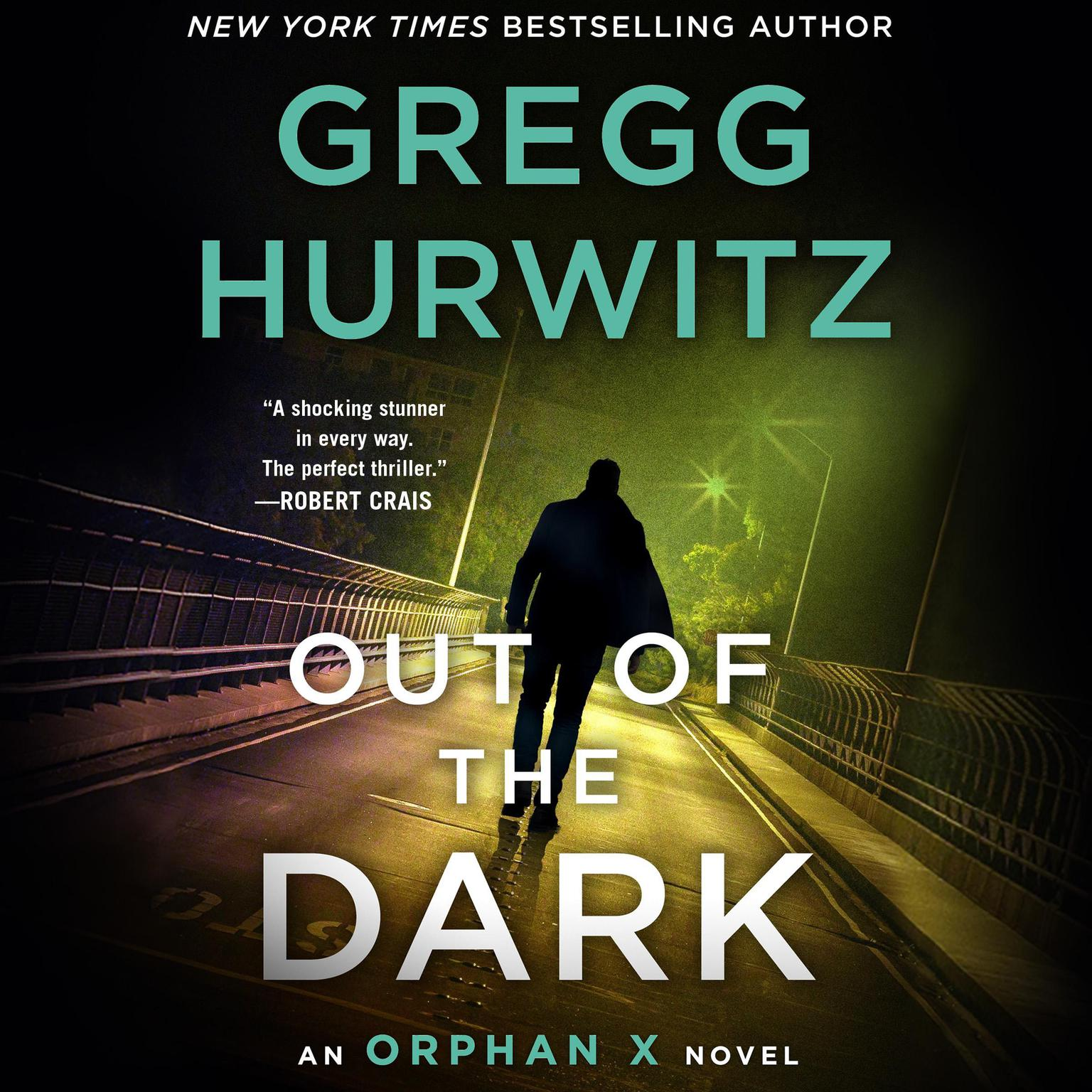 Printable Out of the Dark: An Orphan X Novel Audiobook Cover Art