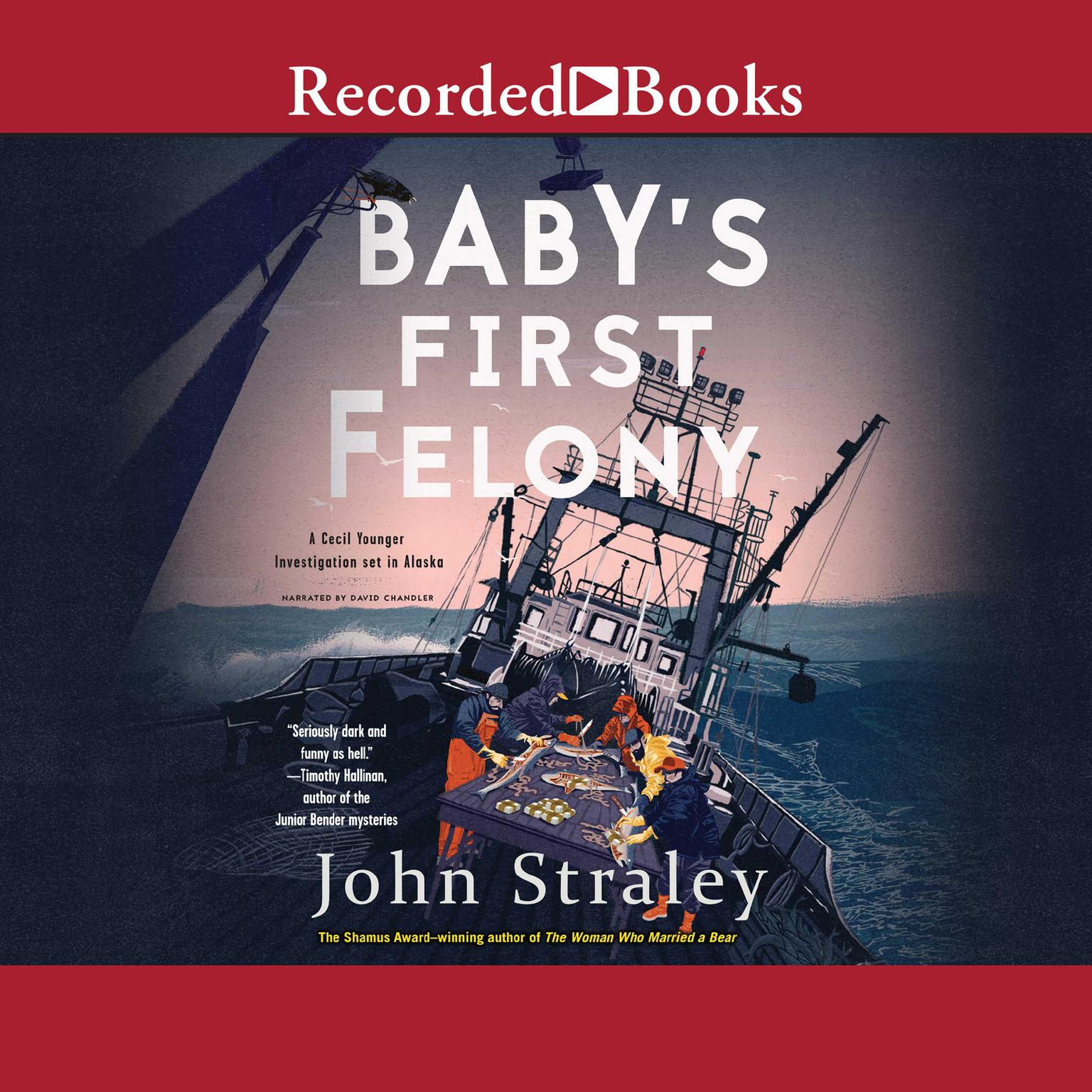 Printable Baby's First Felony Audiobook Cover Art