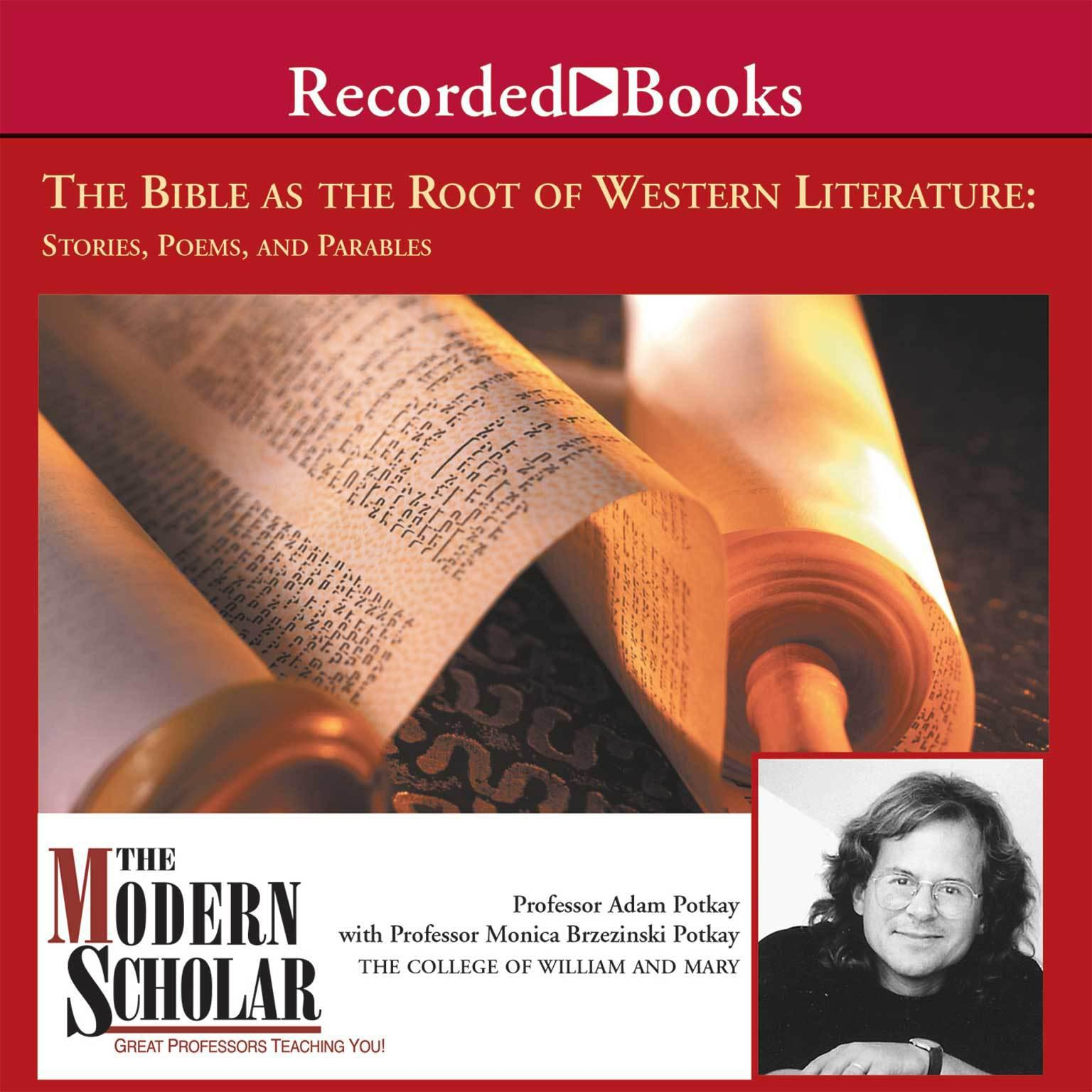 Printable The Bible and the Roots of Western Literature Audiobook Cover Art