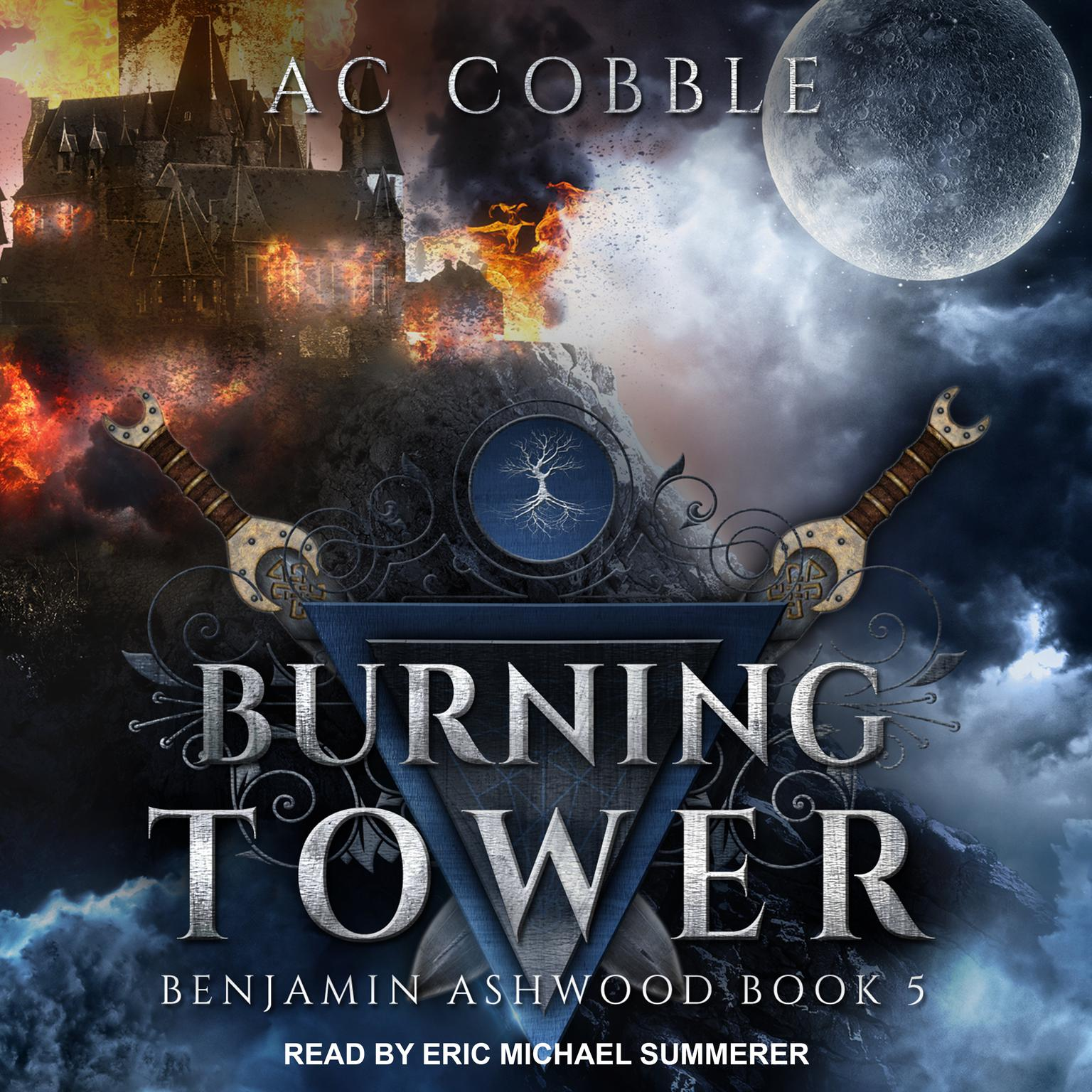Burning Tower Audiobook, by AC Cobble