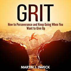 Grit:  How to Perseverance and Keep Going When You Want to Give Up Audiobook, by Martin J. Dweck