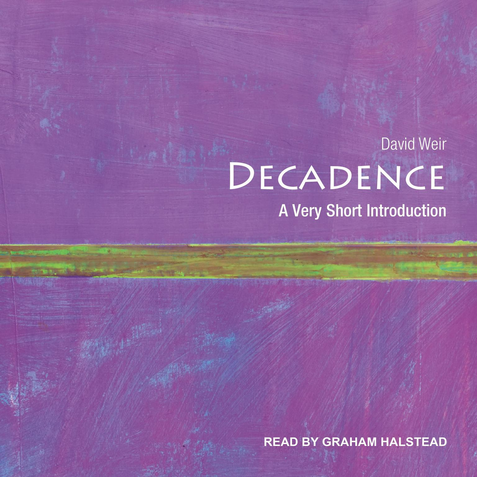 Printable Decadence: A Very Short Introduction Audiobook Cover Art