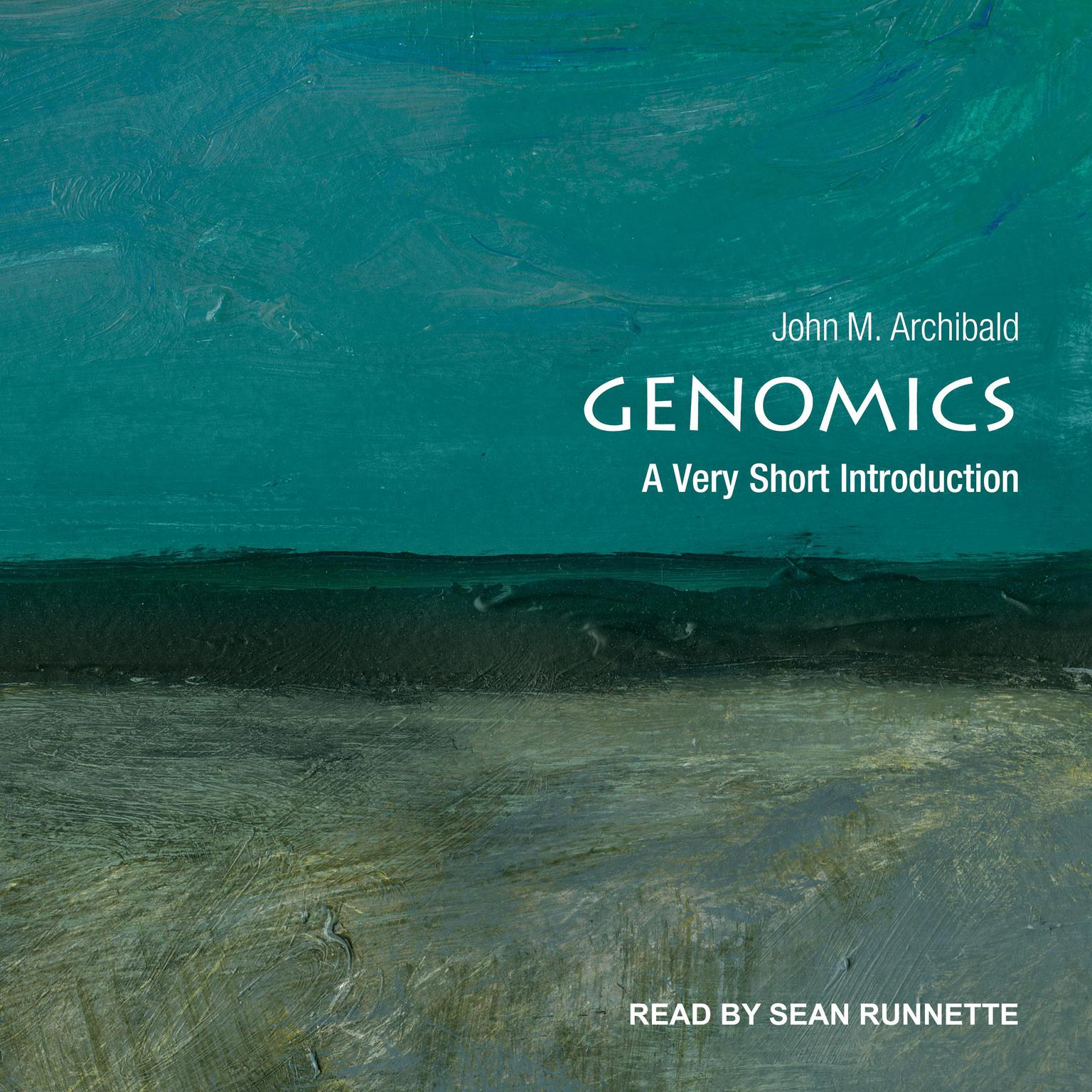 Printable Genomics: A Very Short Introduction Audiobook Cover Art