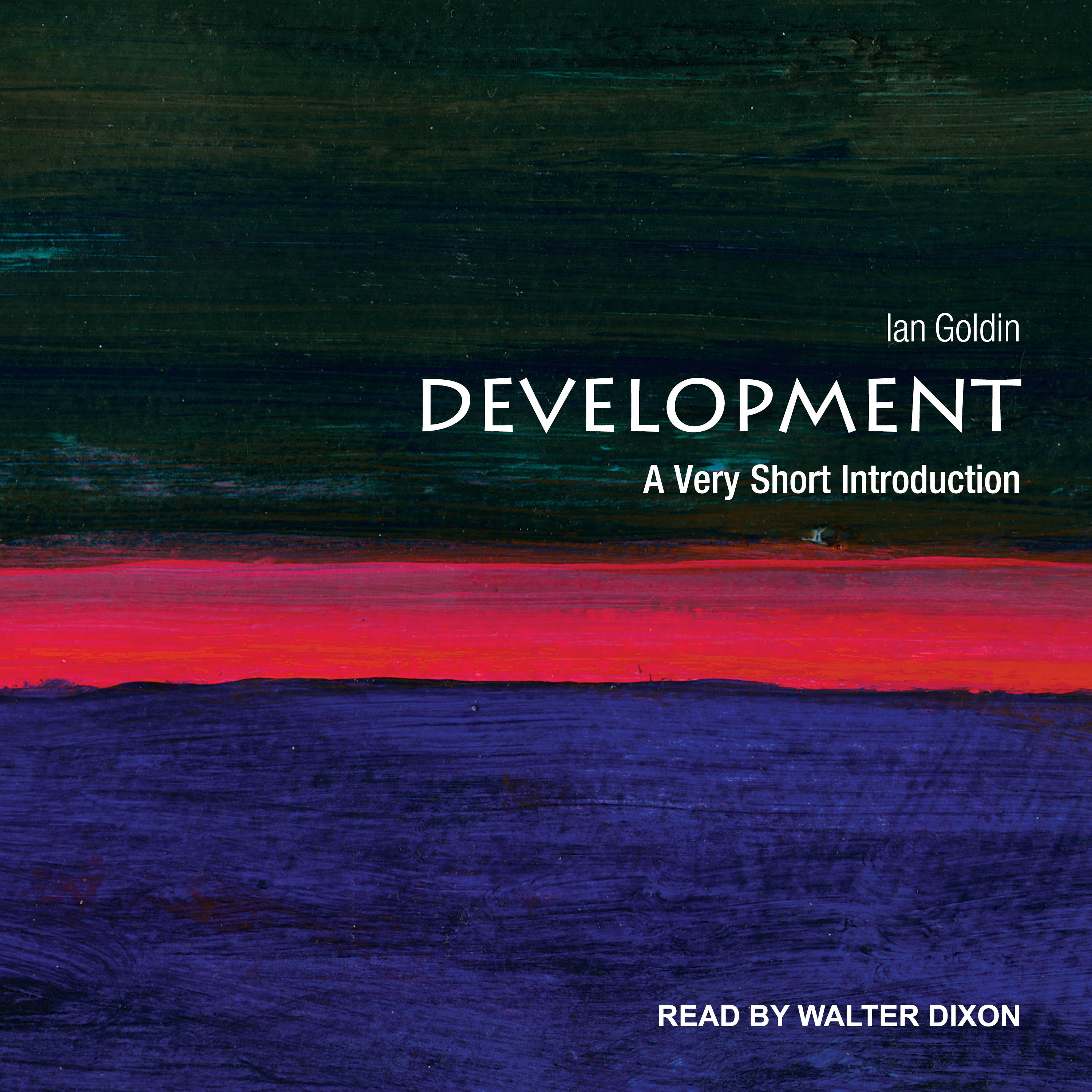 Printable Development: A Very Short Introduction Audiobook Cover Art