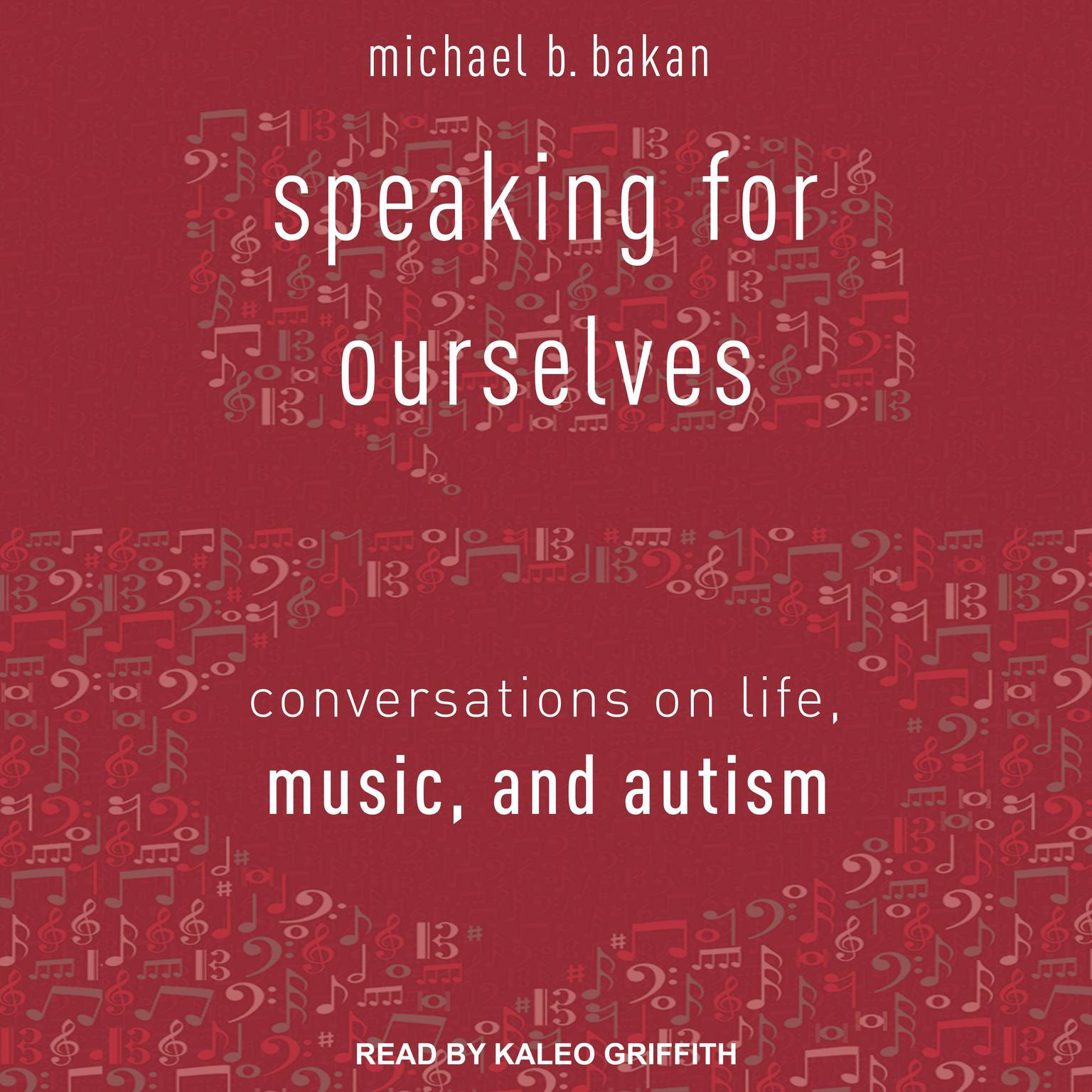 Printable Speaking for Ourselves: Conversations on Life, Music, and Autism Audiobook Cover Art