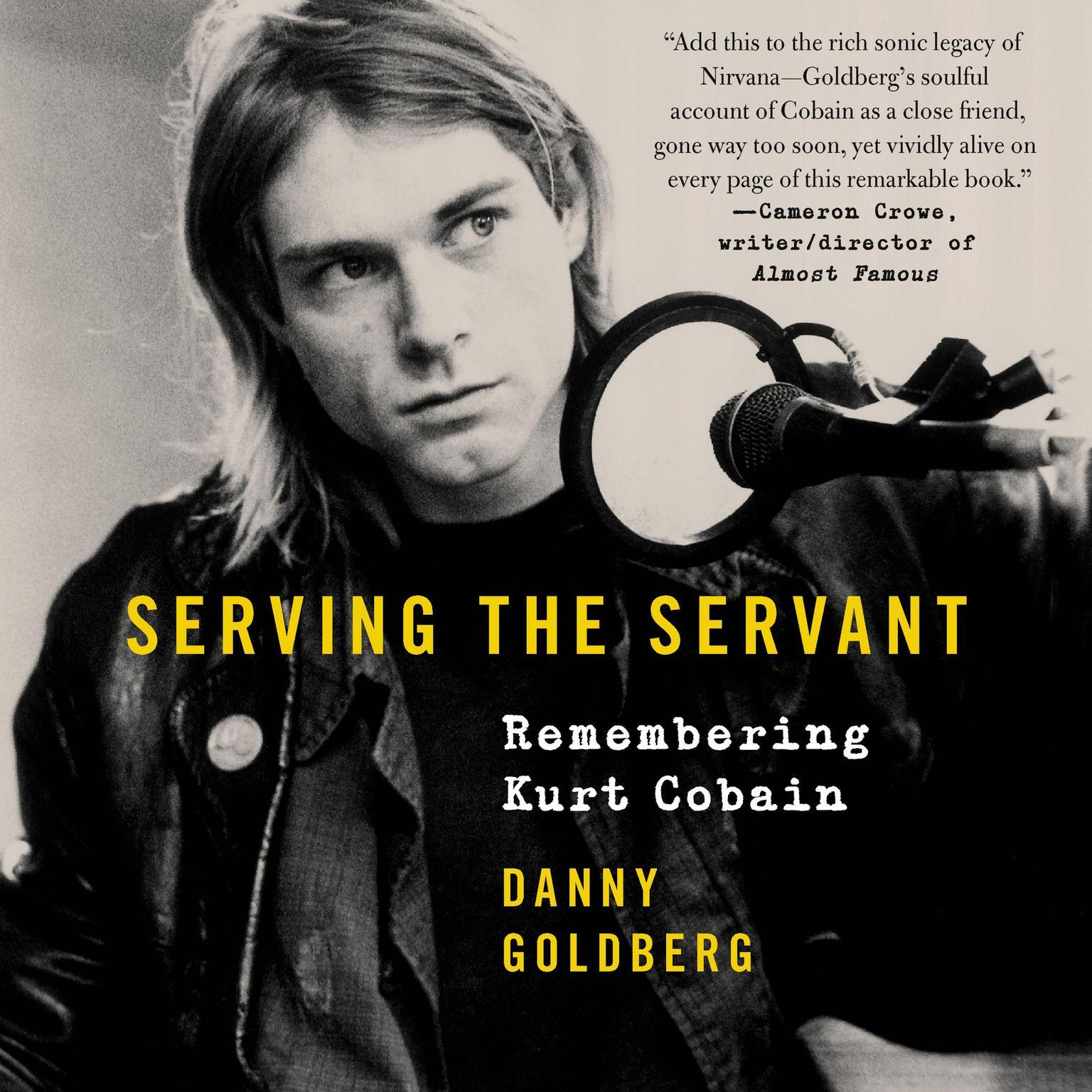 Printable Serving the Servant: Remembering Kurt Cobain Audiobook Cover Art