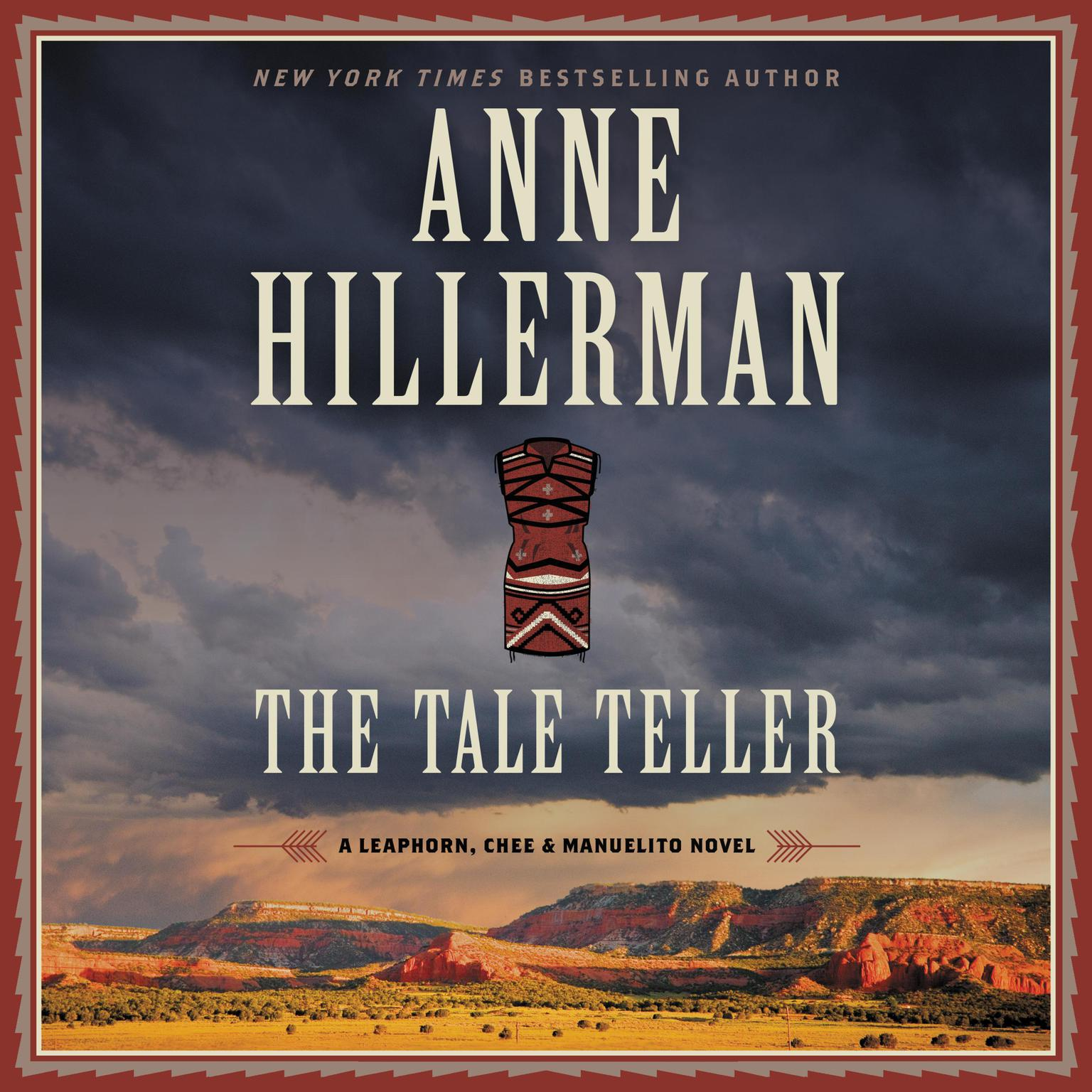 Printable The Tale Teller: A Leaphorn, Chee & Manuelito Novel Audiobook Cover Art