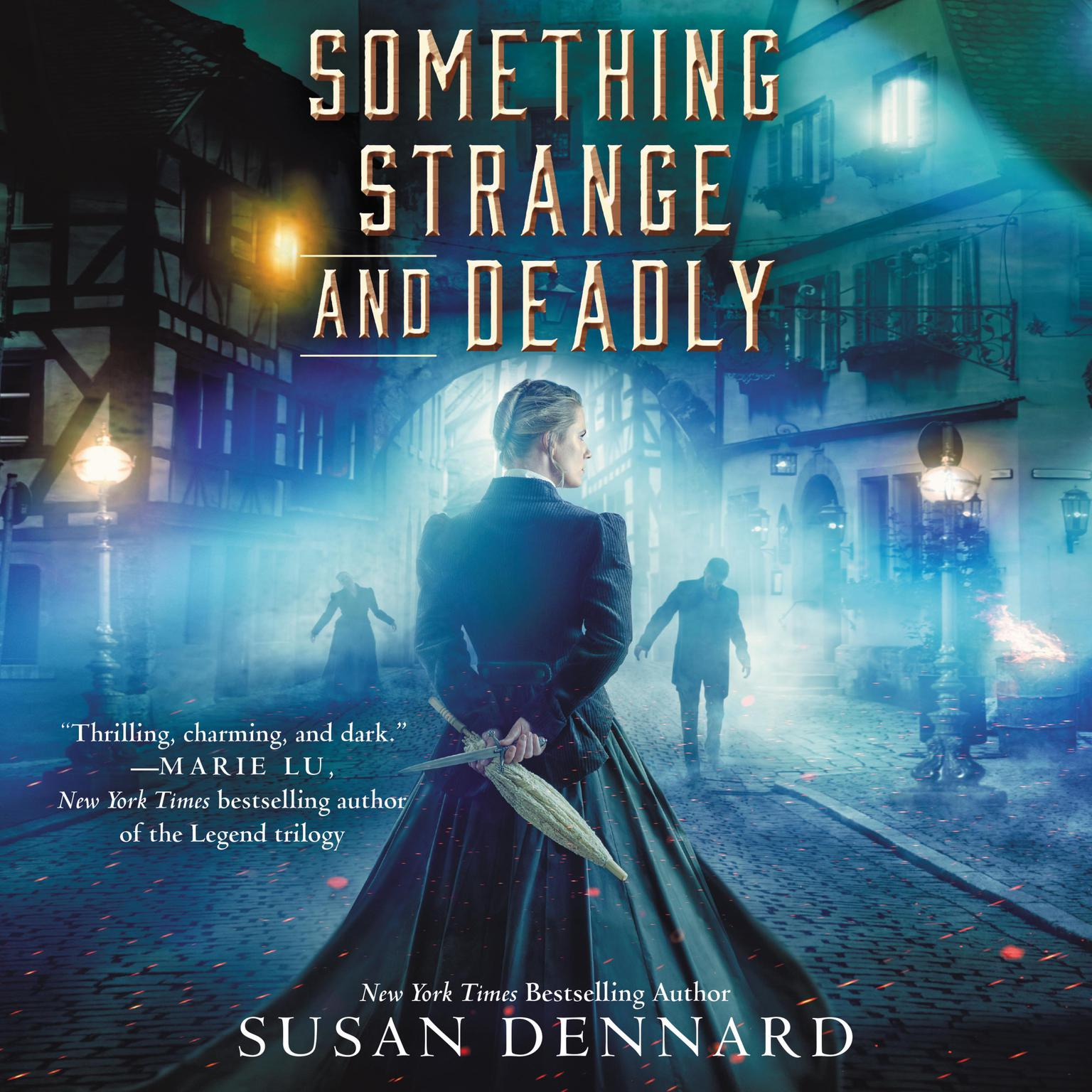 Printable Something Strange and Deadly Audiobook Cover Art