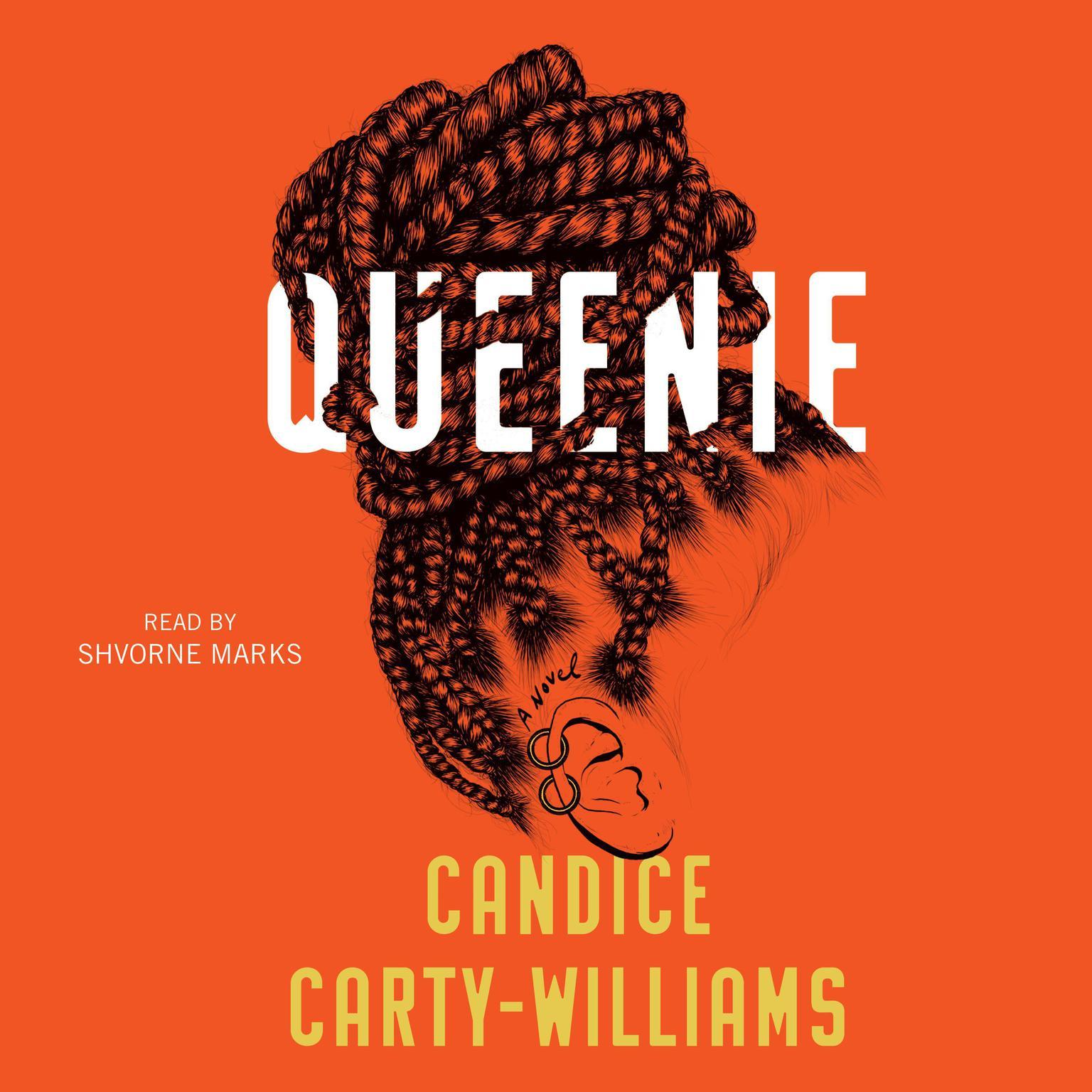 Printable Queenie: A Novel Audiobook Cover Art