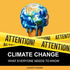 Climate Change: What Everyone Needs to Know Audiobook, by Joseph Romm