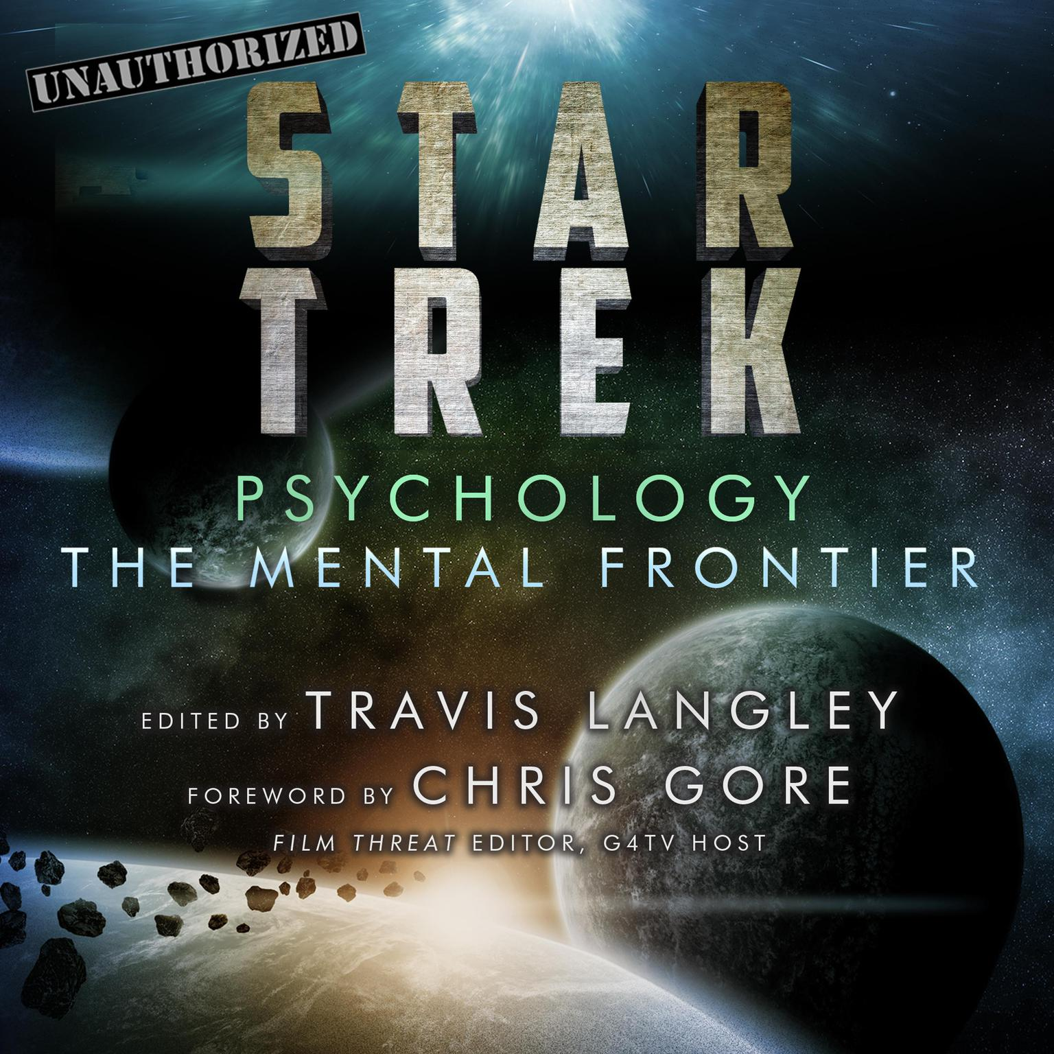 Printable Star Trek Psychology: The Mental Frontier Audiobook Cover Art