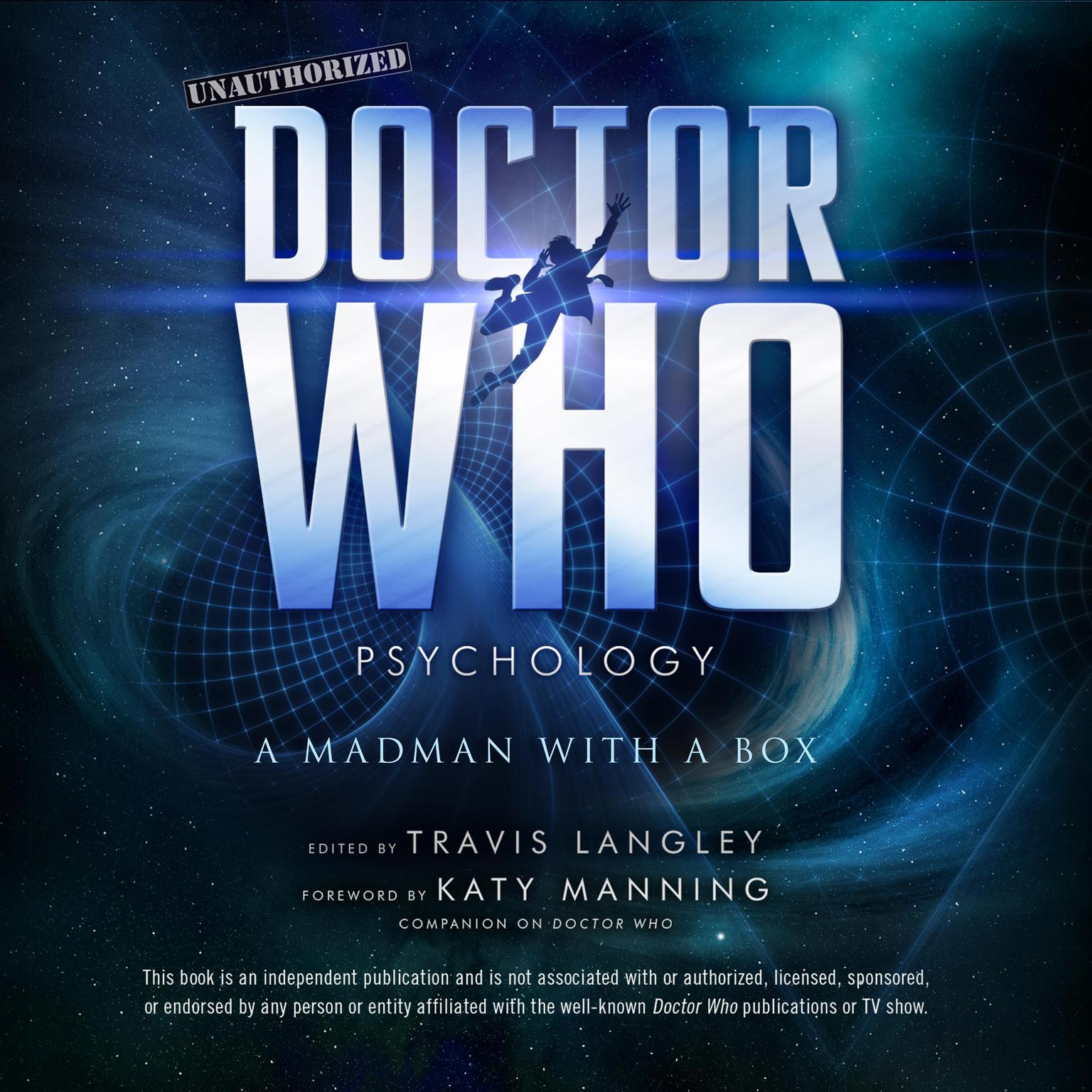 Printable Doctor Who Psychology: A Madman with a Box Audiobook Cover Art