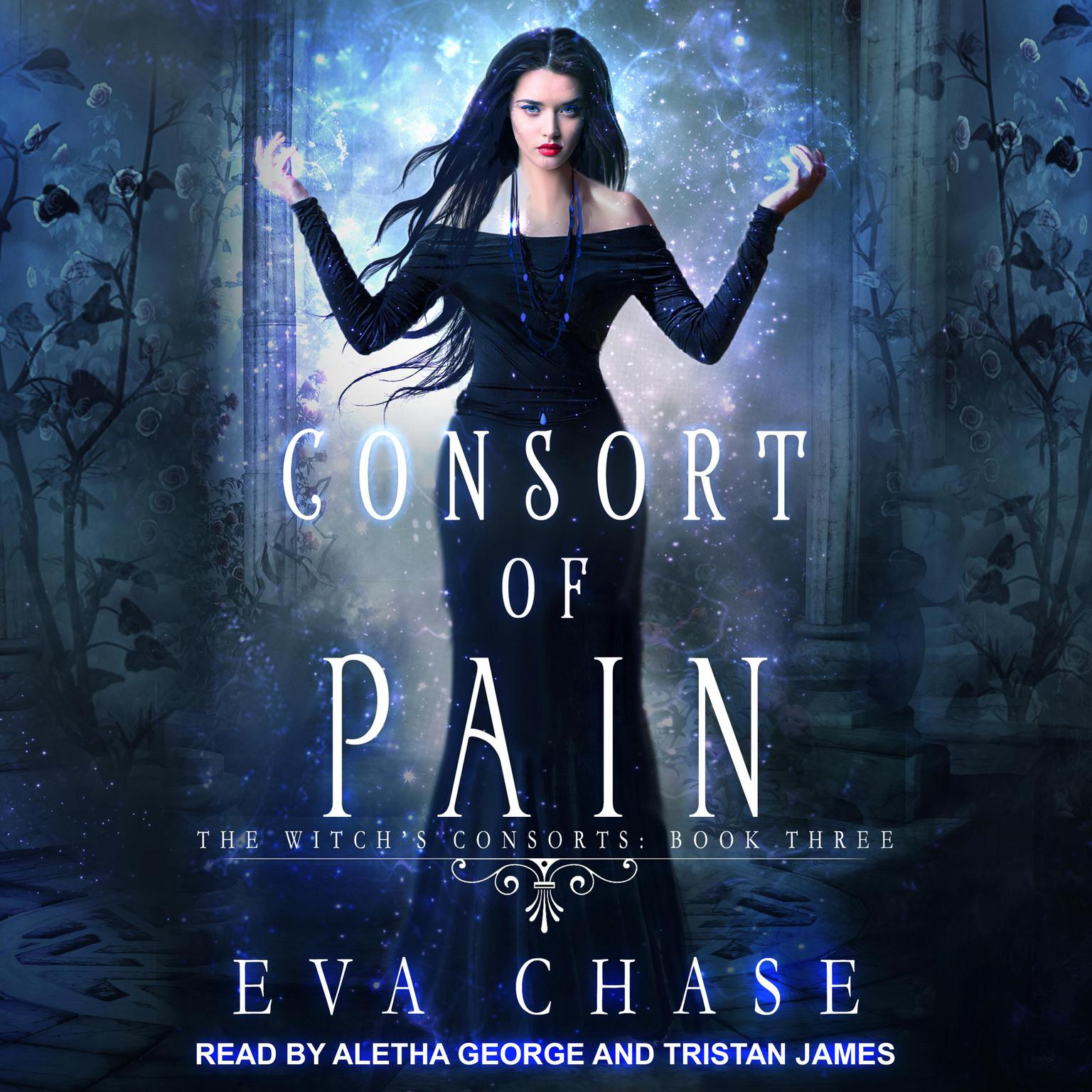 Printable Consort of Pain: A Paranormal Reverse Harem Novel Audiobook Cover Art