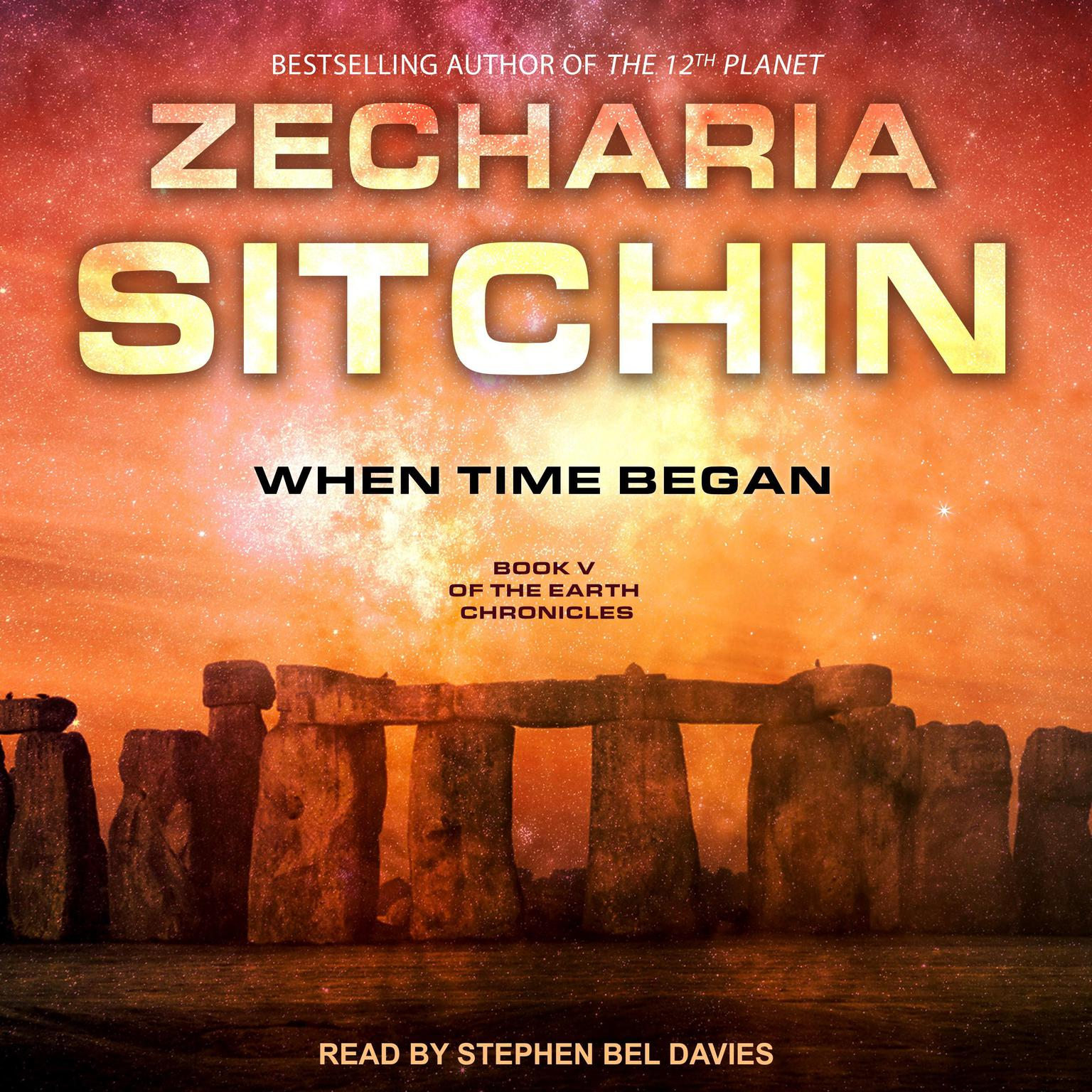 When Time Began Audiobook, by Zecharia Sitchin
