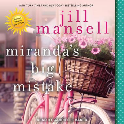 Miranda's Big Mistake Audiobook, by Jill Mansell