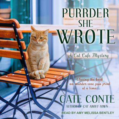 Purrder She Wrote Audiobook, by Cate Conte