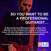 So You Want To Be A Professional Guitarist Audiobook, by Author Info Added Soon