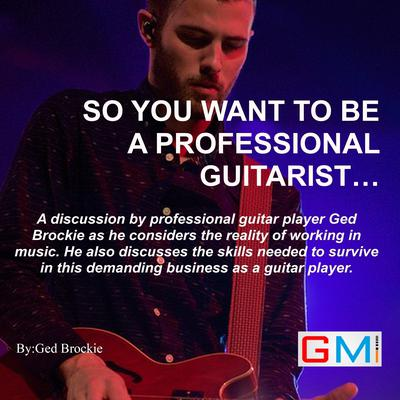 So You Want To Be A Professional Guitarist Audiobook, by Ged Brockie