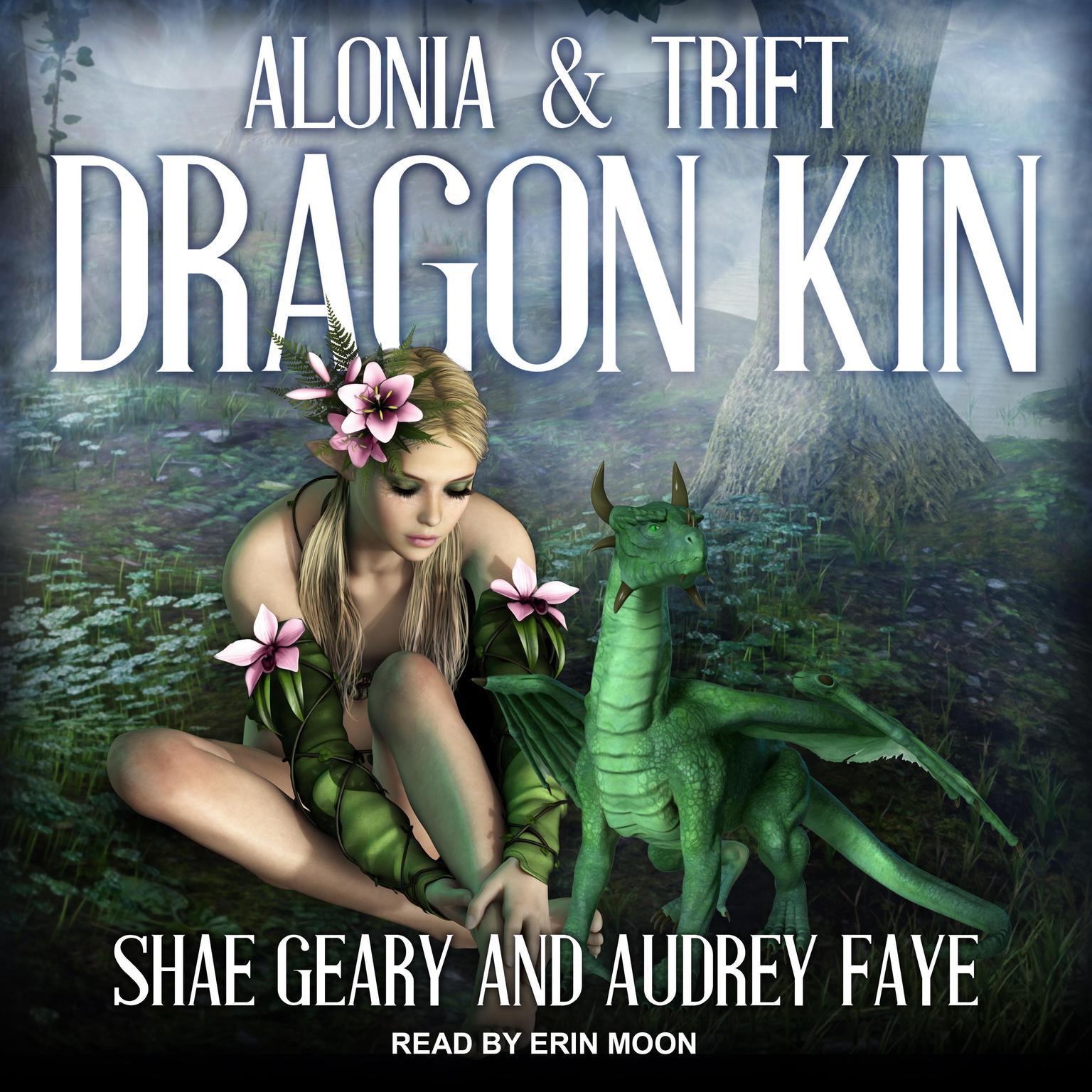 Printable Dragon Kin: Alonia & Trift Audiobook Cover Art