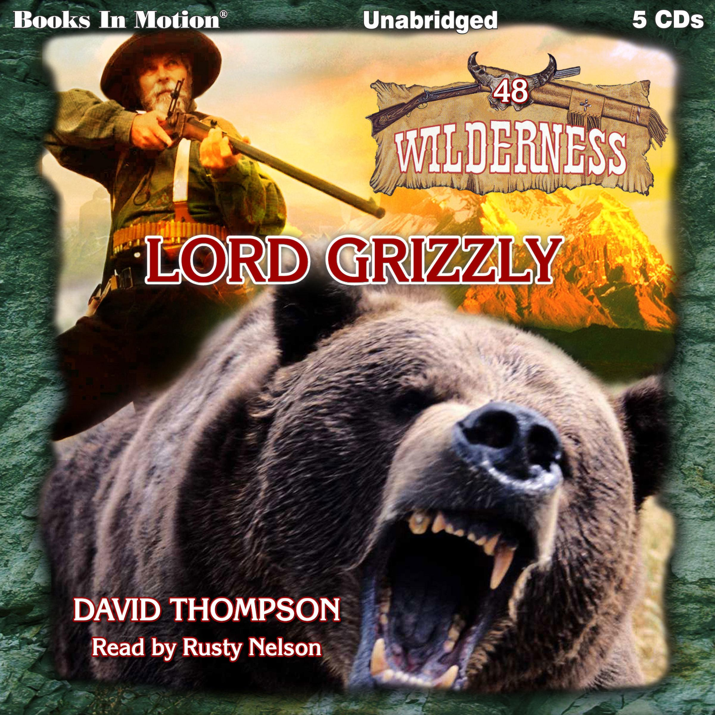 Printable Lord Grizzly Audiobook Cover Art