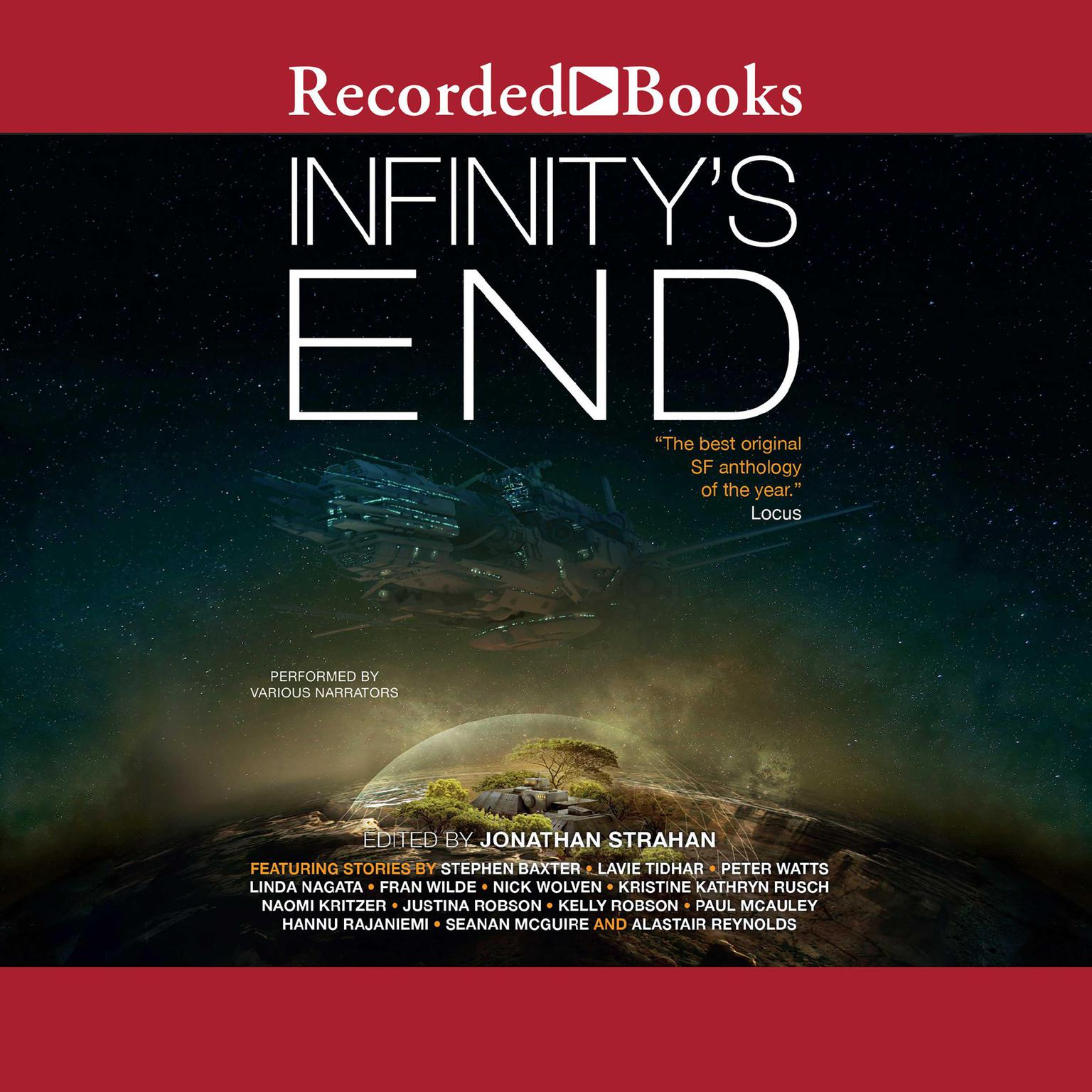 Printable Infinity's End Audiobook Cover Art