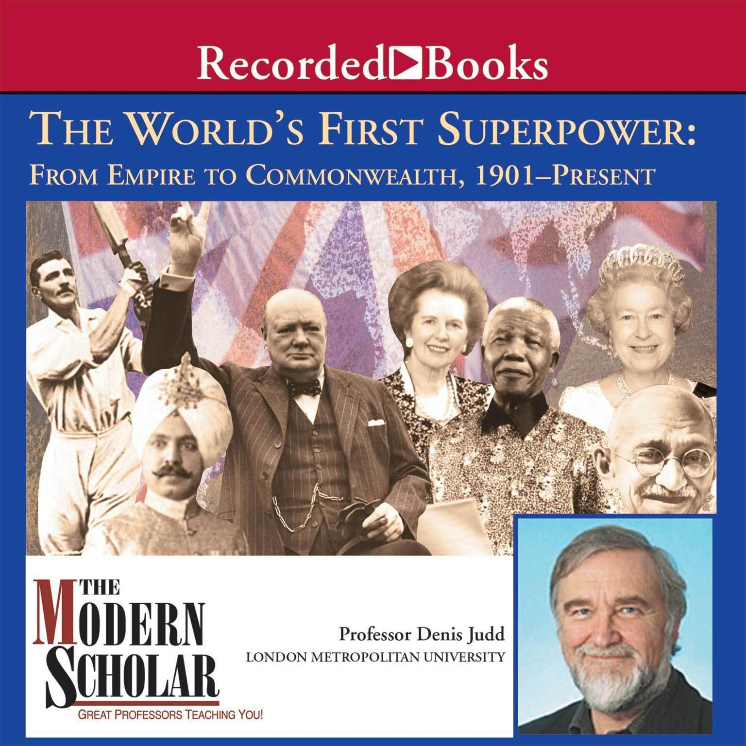 Printable World's First Superpower: From Empire to Commonwealth, 1901–Present Audiobook Cover Art