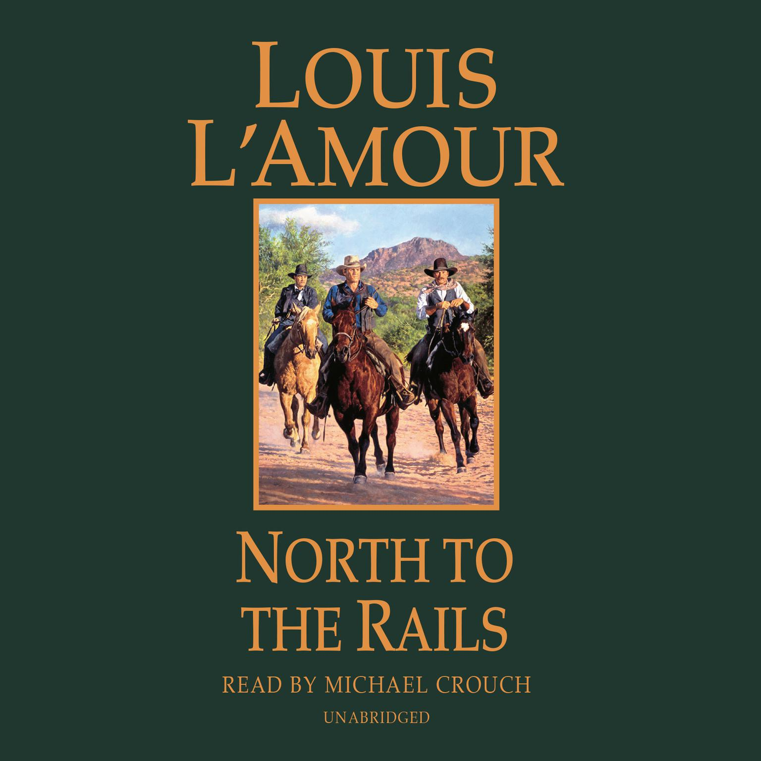 Printable North to the Rails: A Novel Audiobook Cover Art