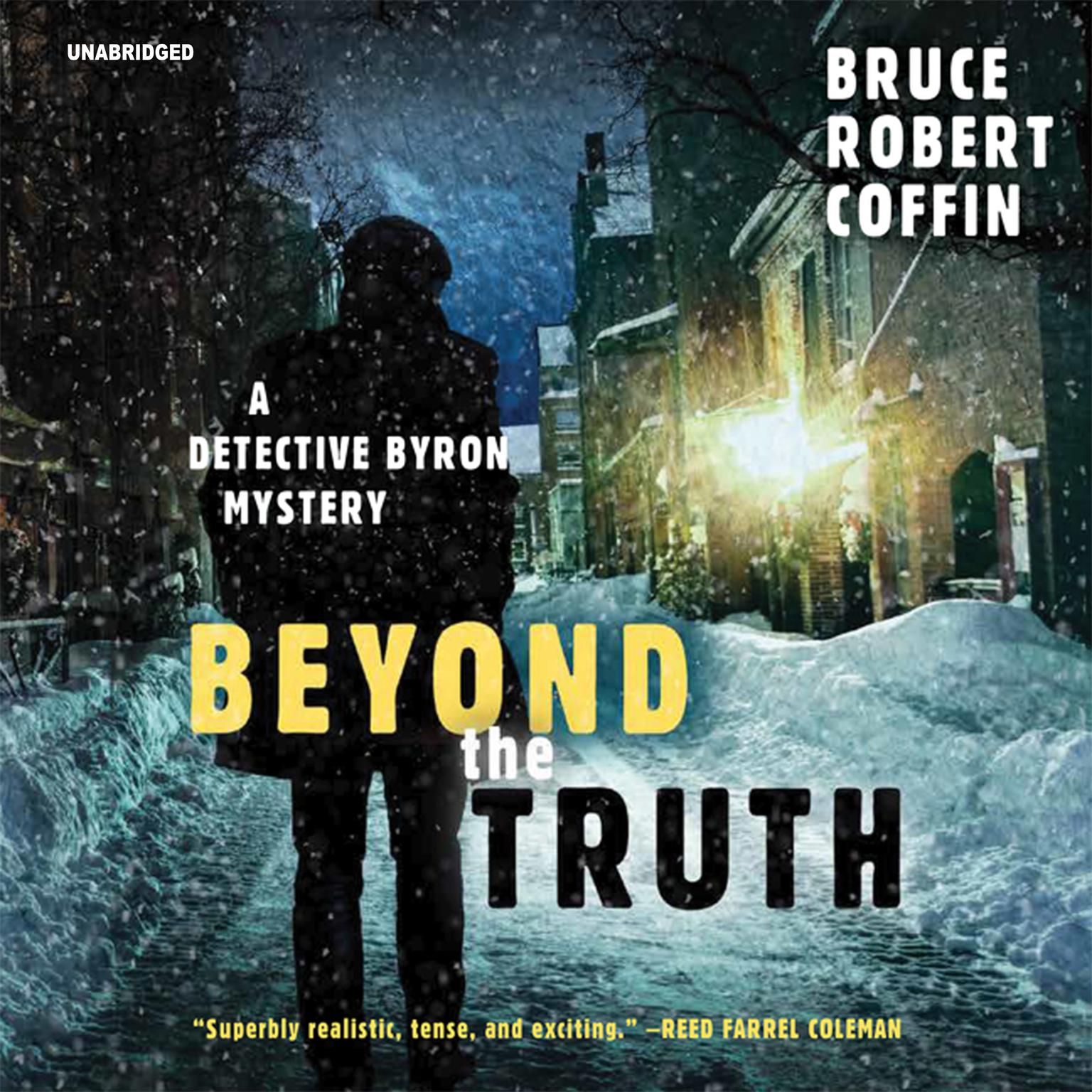 Printable Beyond the Truth: A Detective Byron Mystery Audiobook Cover Art