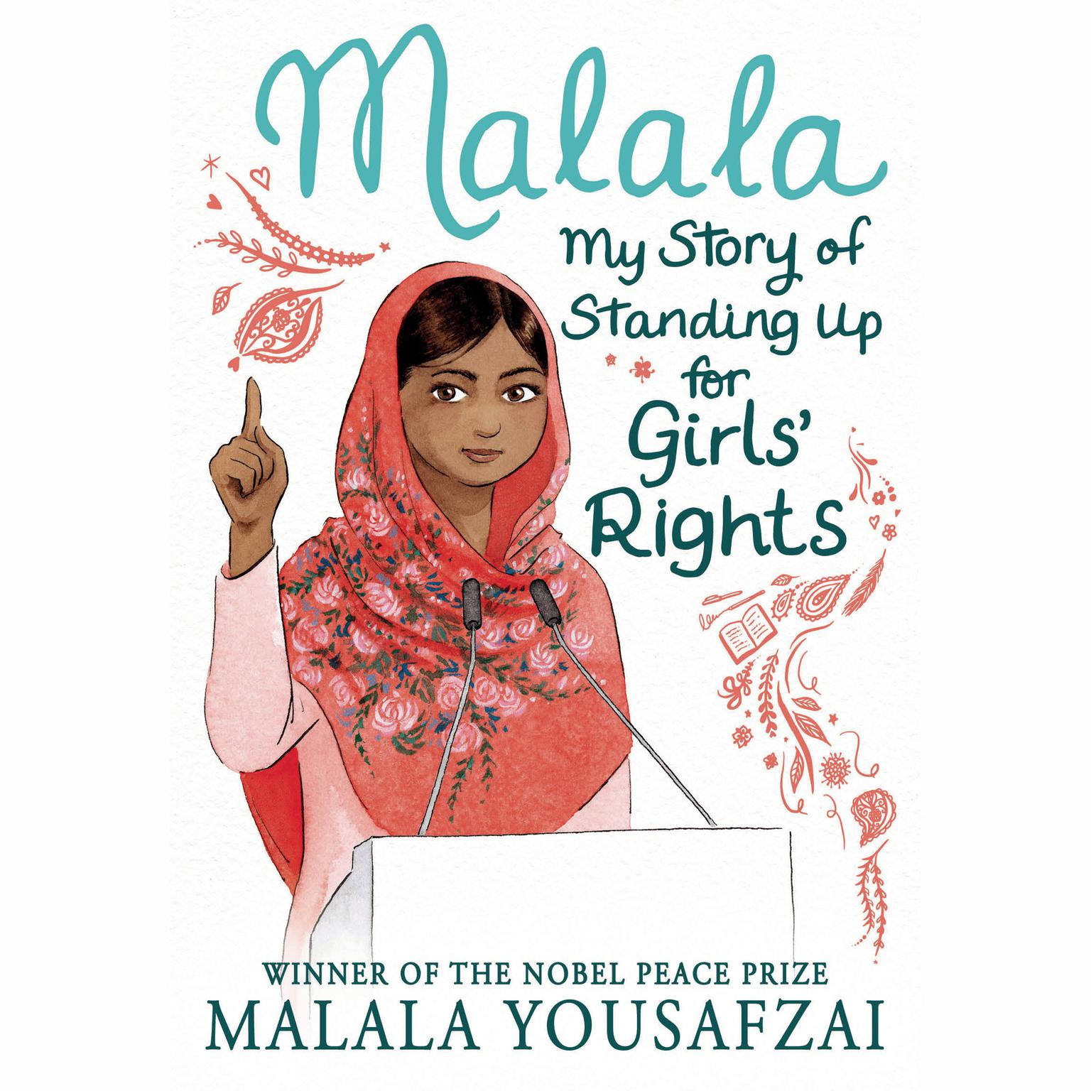Printable Malala: My Story of Standing Up for Girls' Rights Audiobook Cover Art