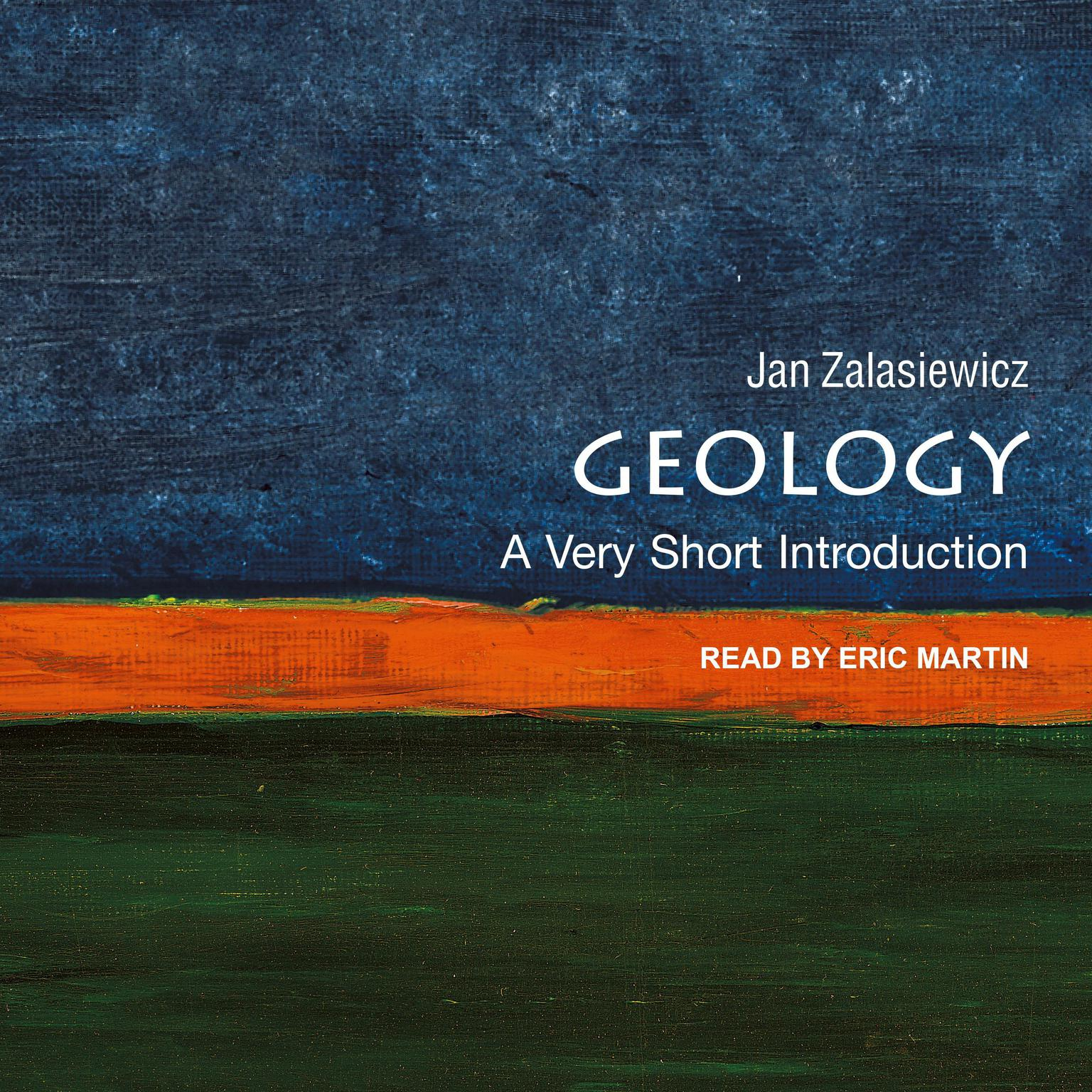 Printable Geology: A Very Short Introduction Audiobook Cover Art