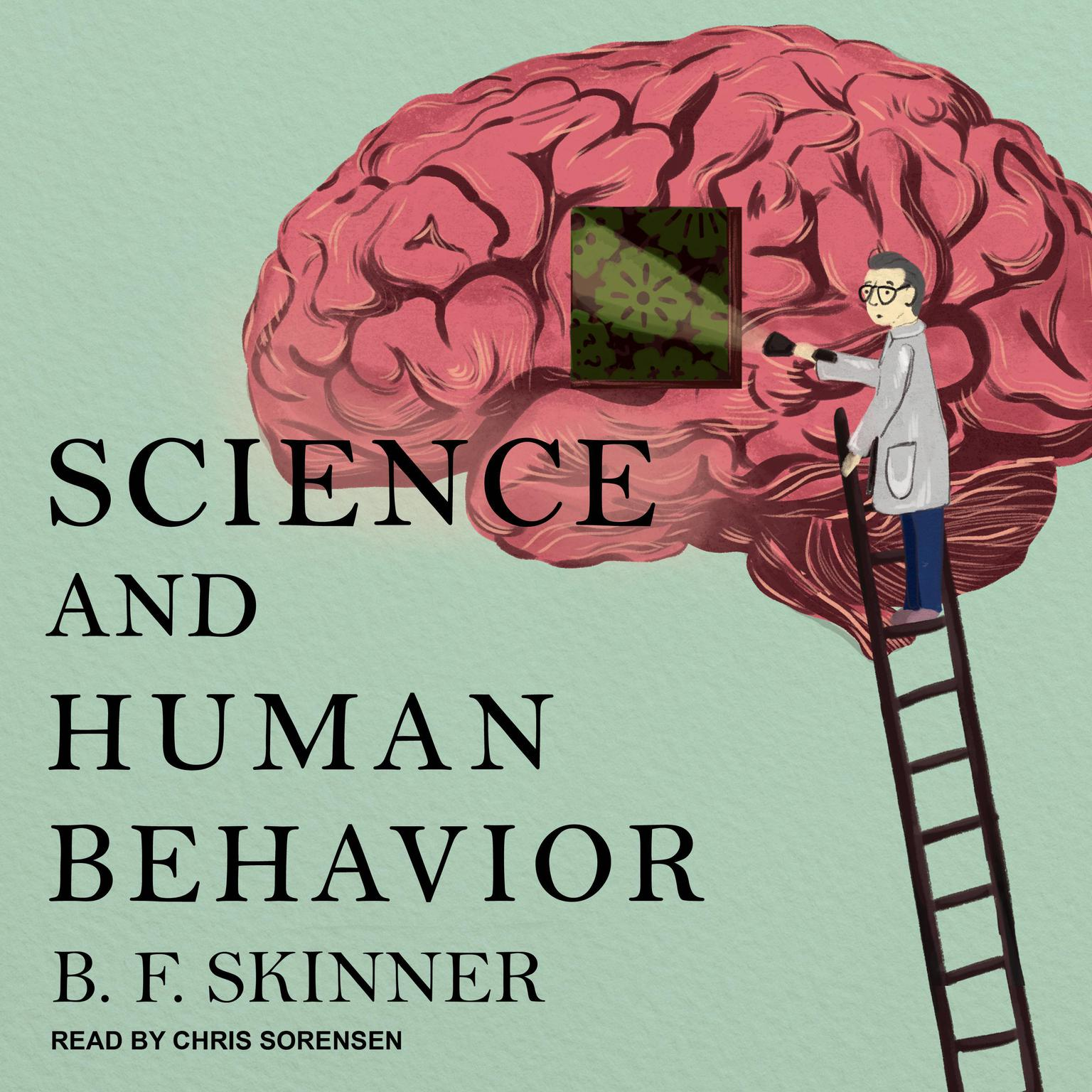 Printable Science and Human Behavior Audiobook Cover Art