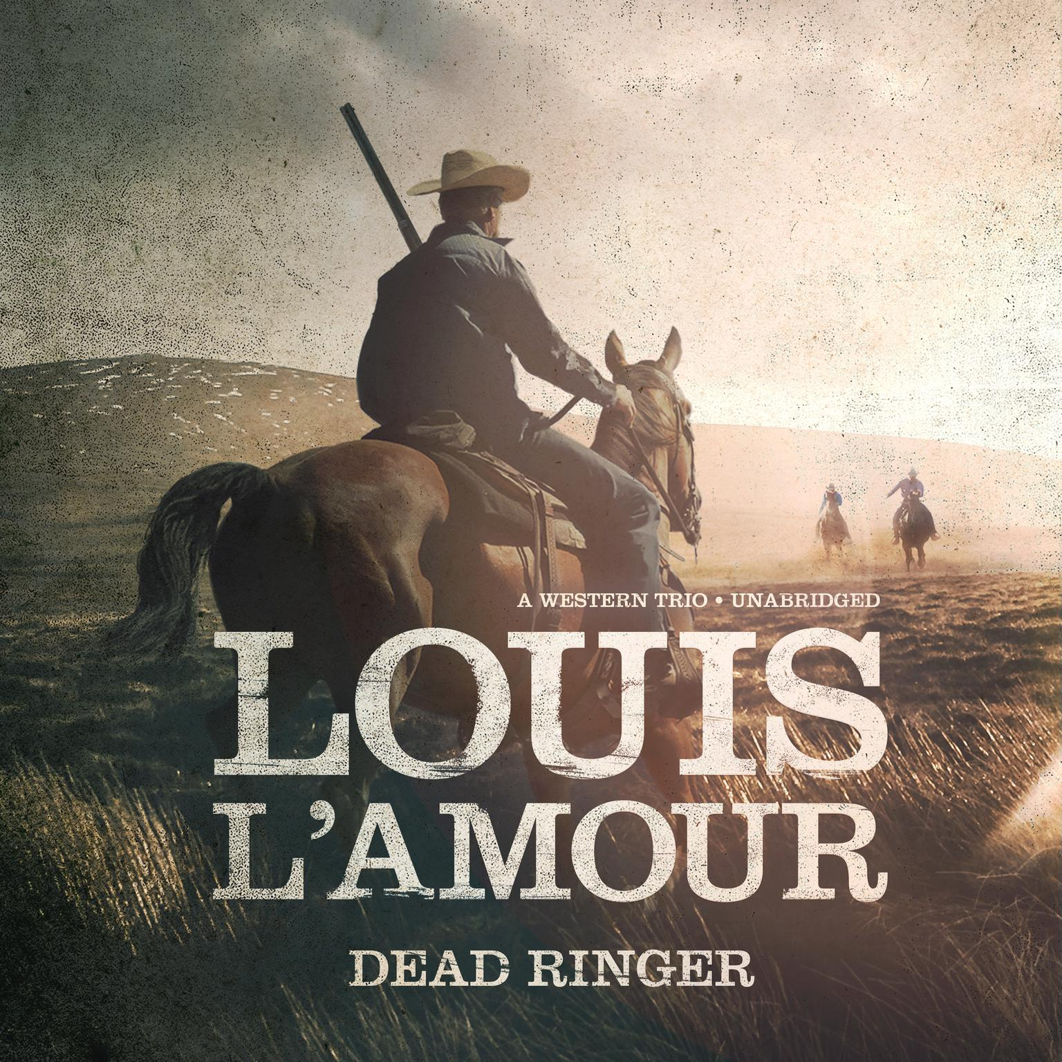 Printable Dead Ringer: A Western Trio Audiobook Cover Art