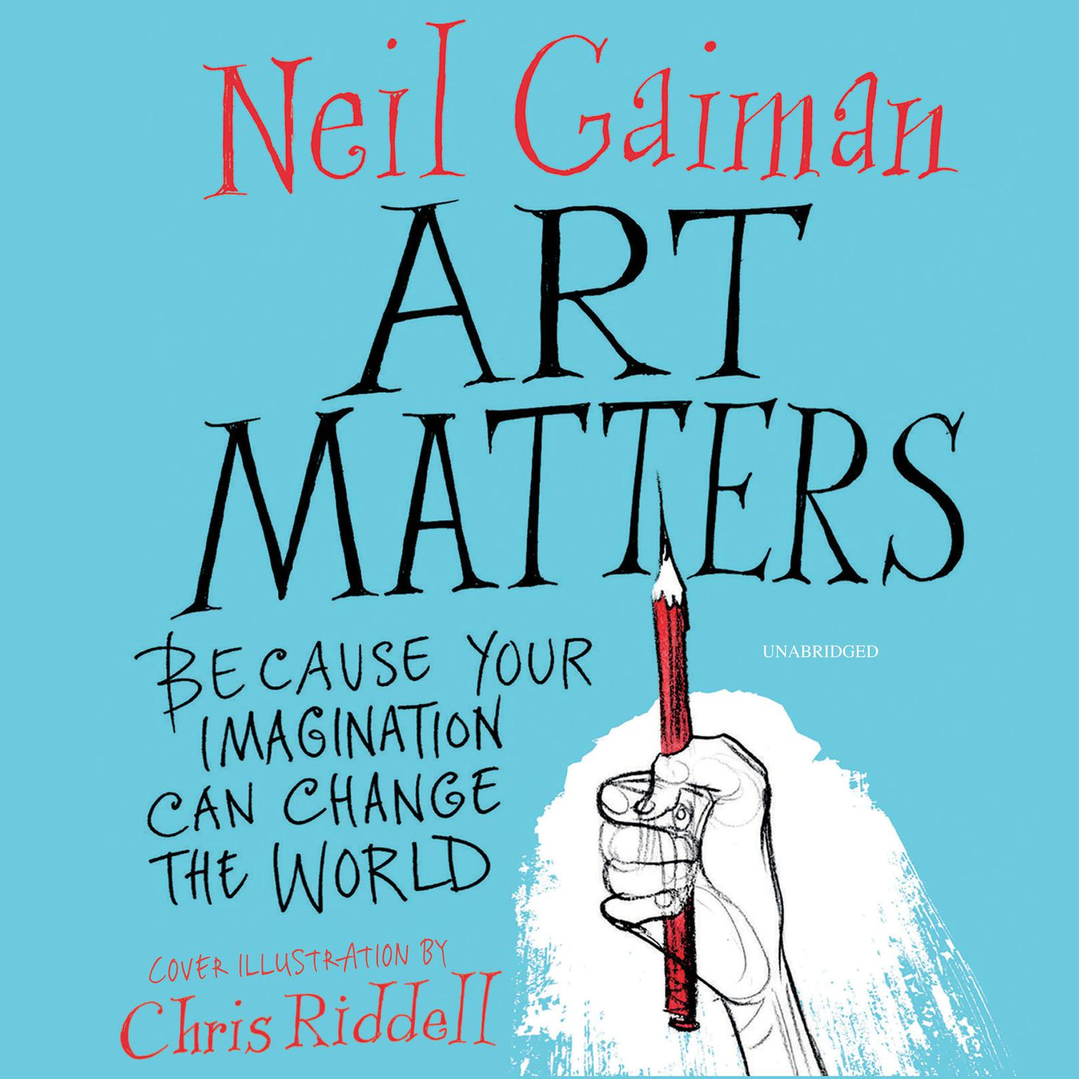 Printable Art Matters: Because Your Imagination Can Change the World Audiobook Cover Art