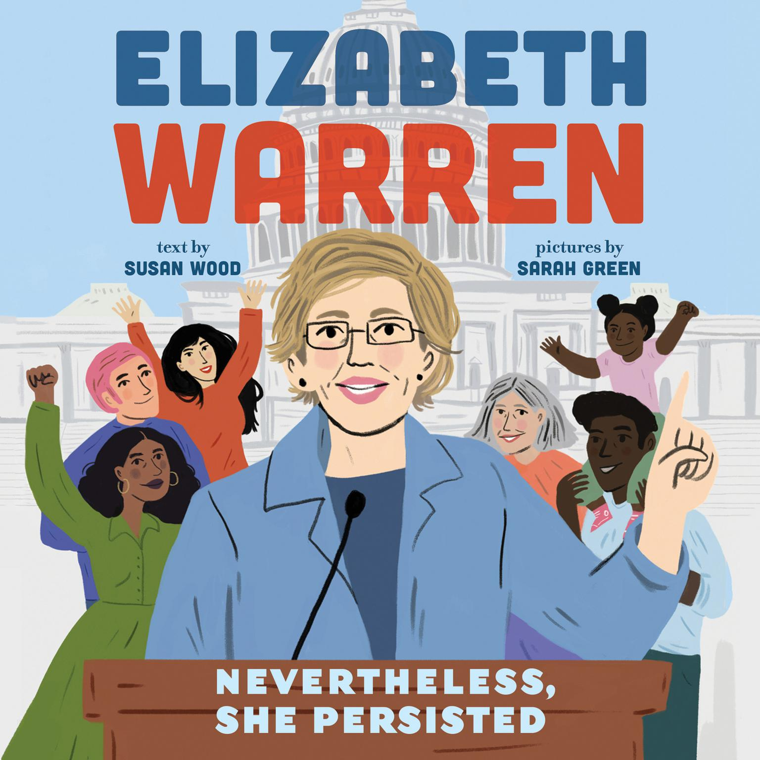 Printable Elizabeth Warren: Nevertheless, She Persisted Audiobook Cover Art