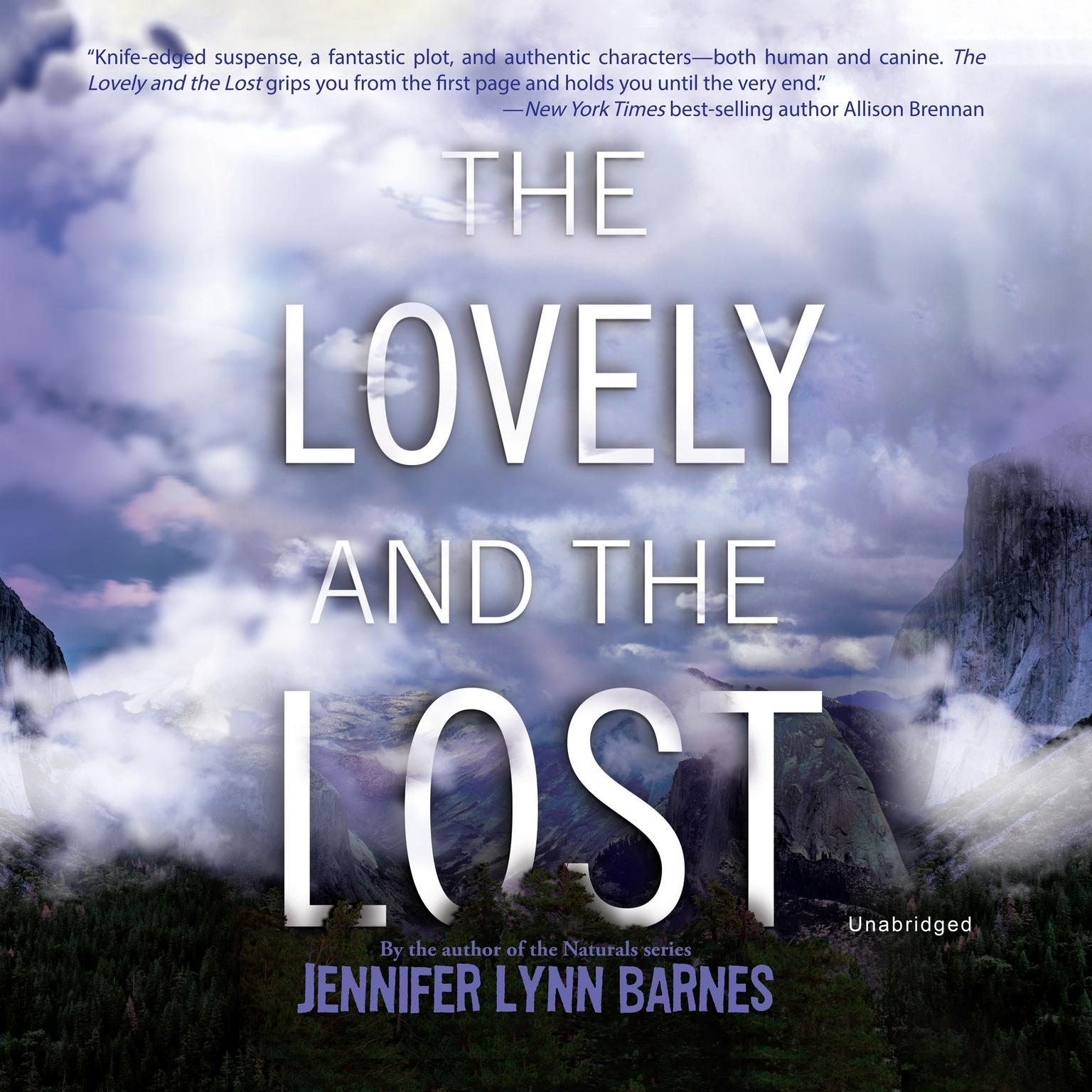 Printable The Lovely and the Lost Audiobook Cover Art
