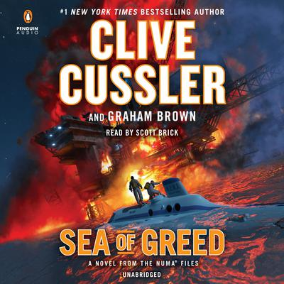 Sea of Greed Audiobook, by Clive Cussler