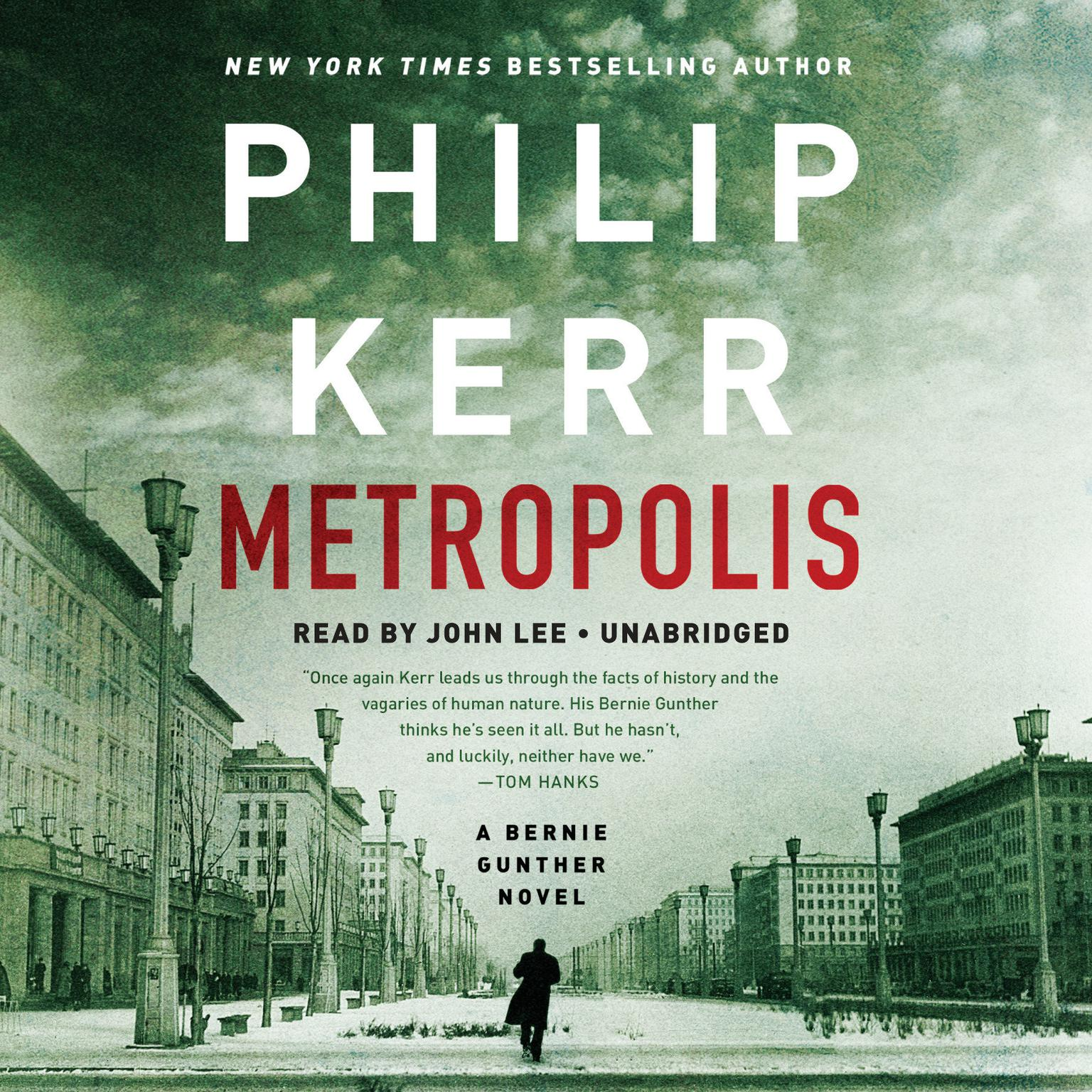 Printable Metropolis Audiobook Cover Art