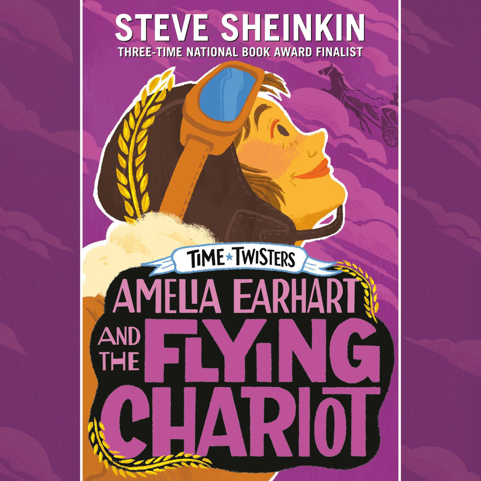Printable Amelia Earhart and the Flying Chariot Audiobook Cover Art