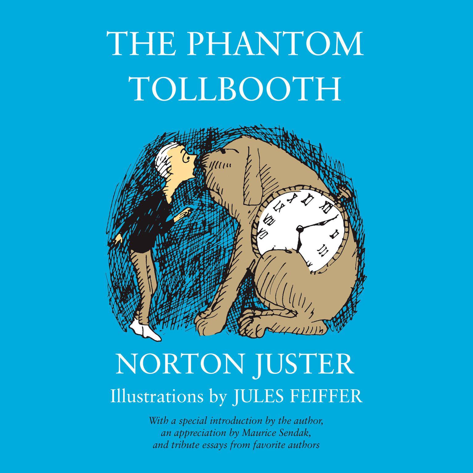 Printable The Phantom Tollbooth Audiobook Cover Art